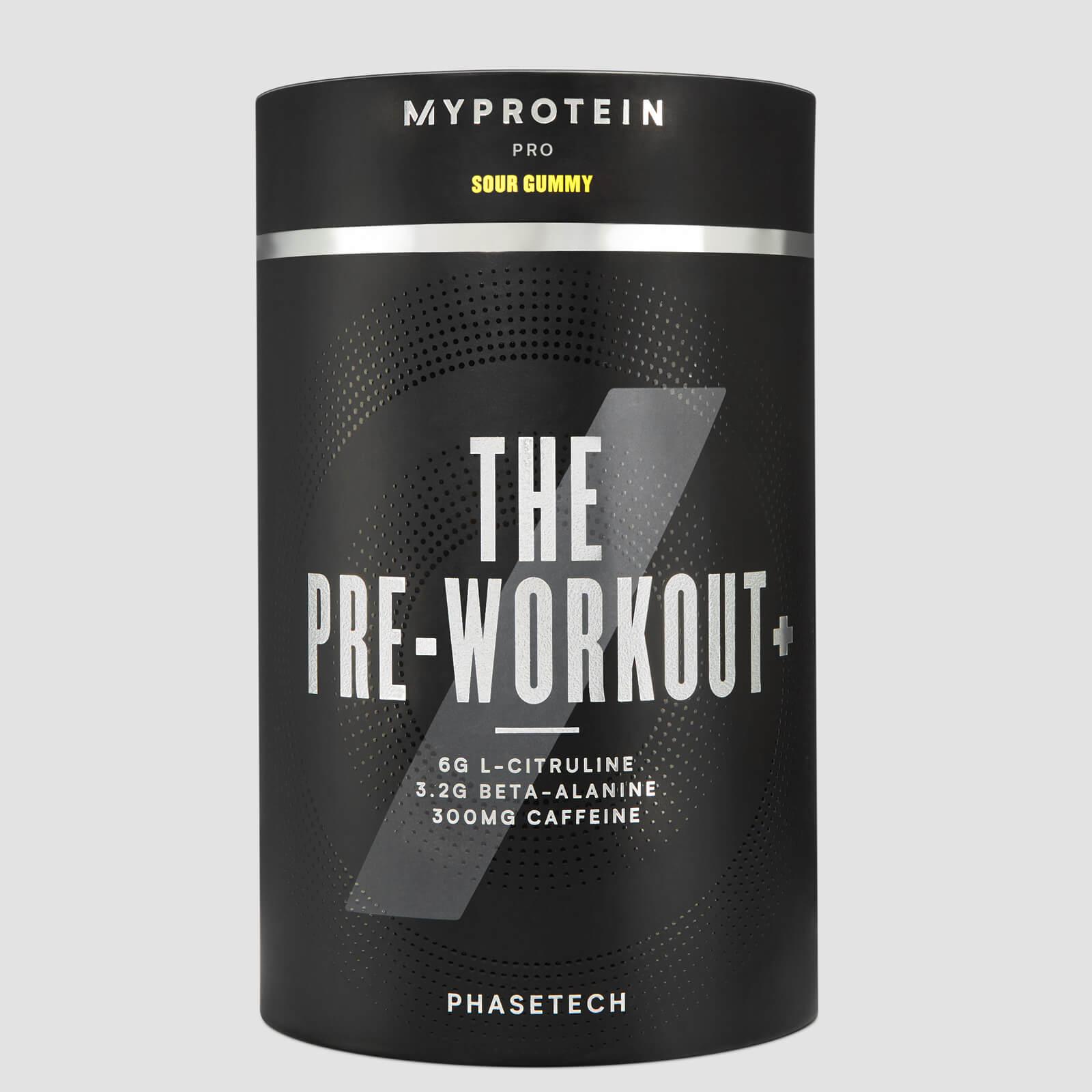 Купить THE Pre-Workout+ - 20servings - Кислый мармелад, Myprotein International