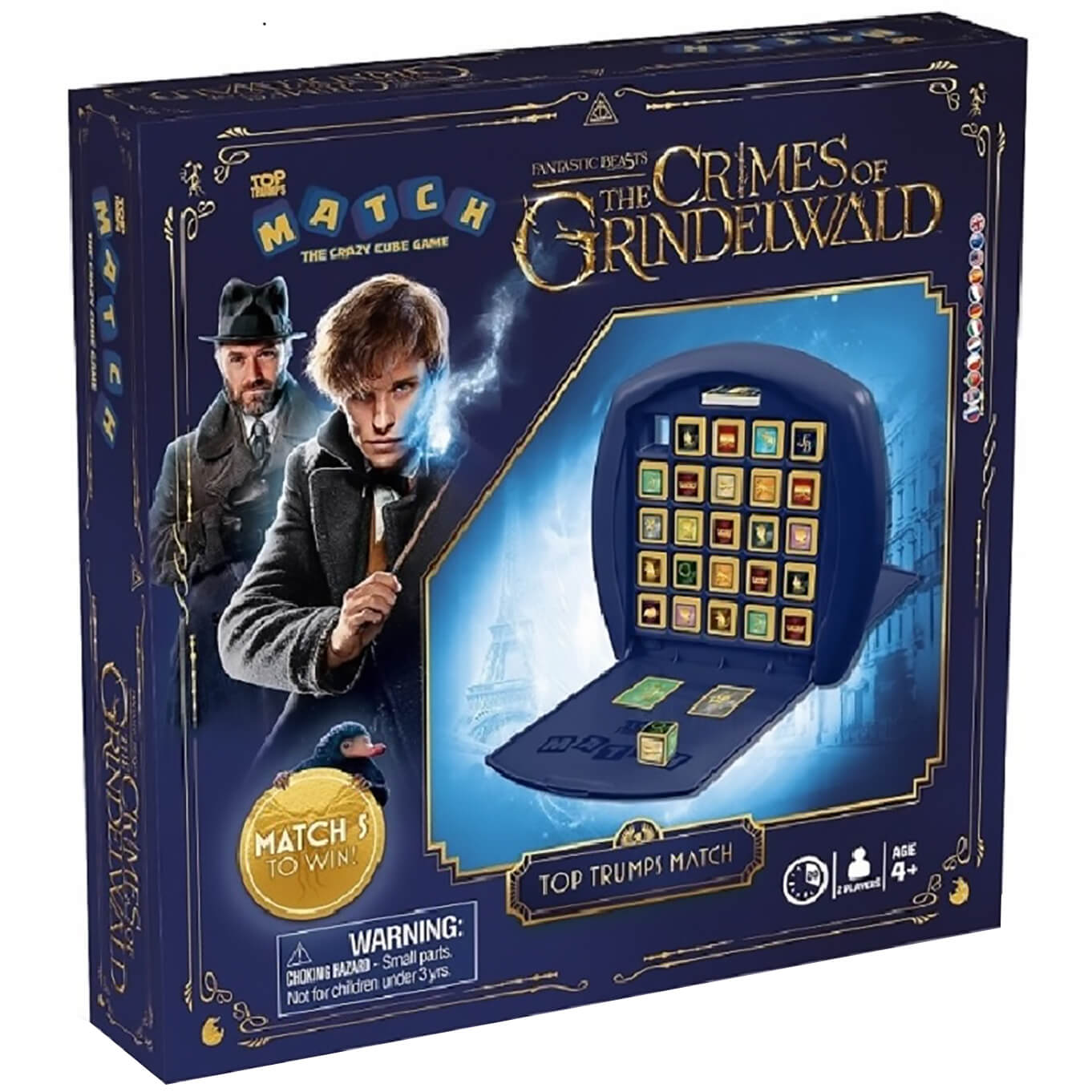 Image of Top Trumps Match Board Game - Fantastic Beasts Edition