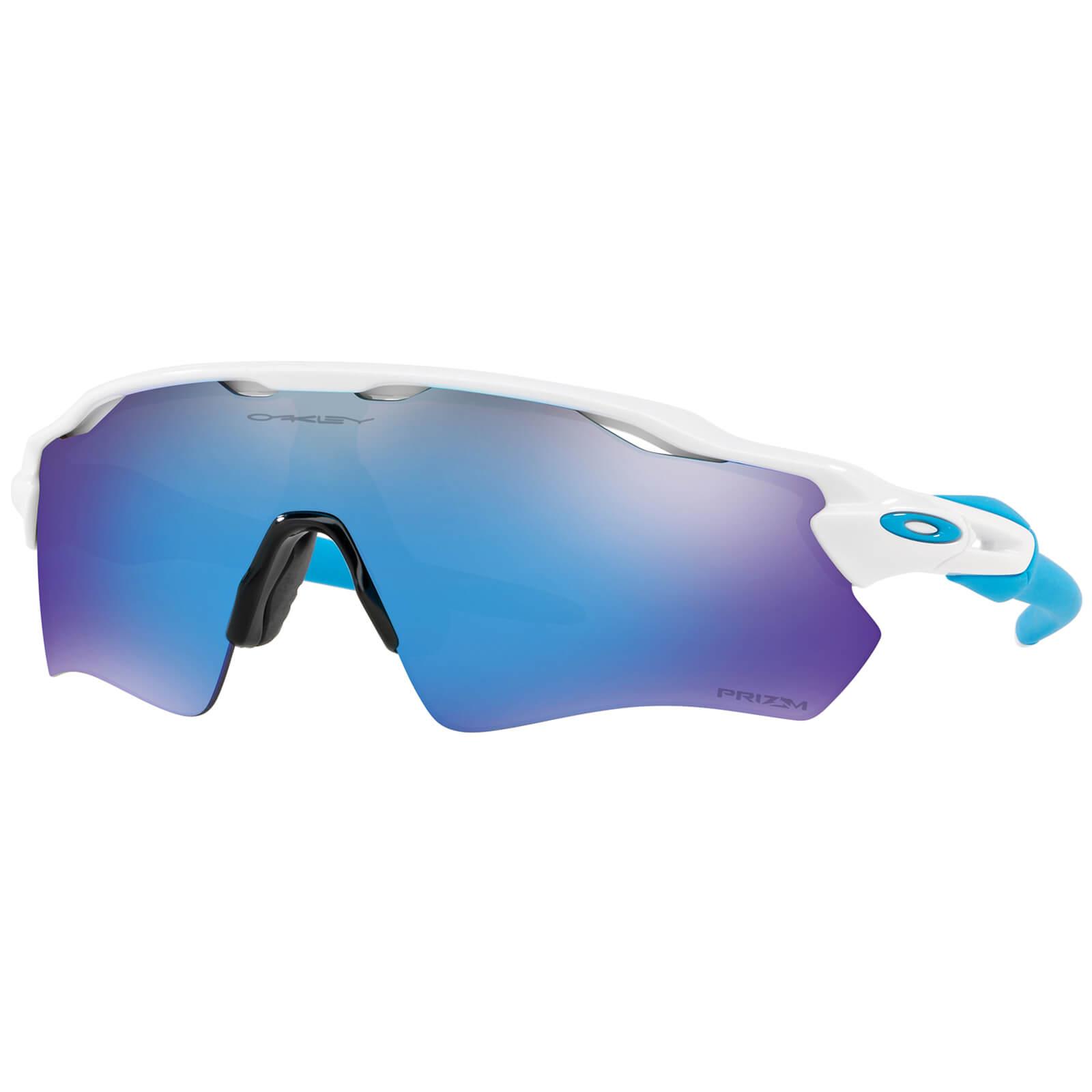 Oakley Radar EV Path Sunglasses - Polished White/Prizm Sapphire