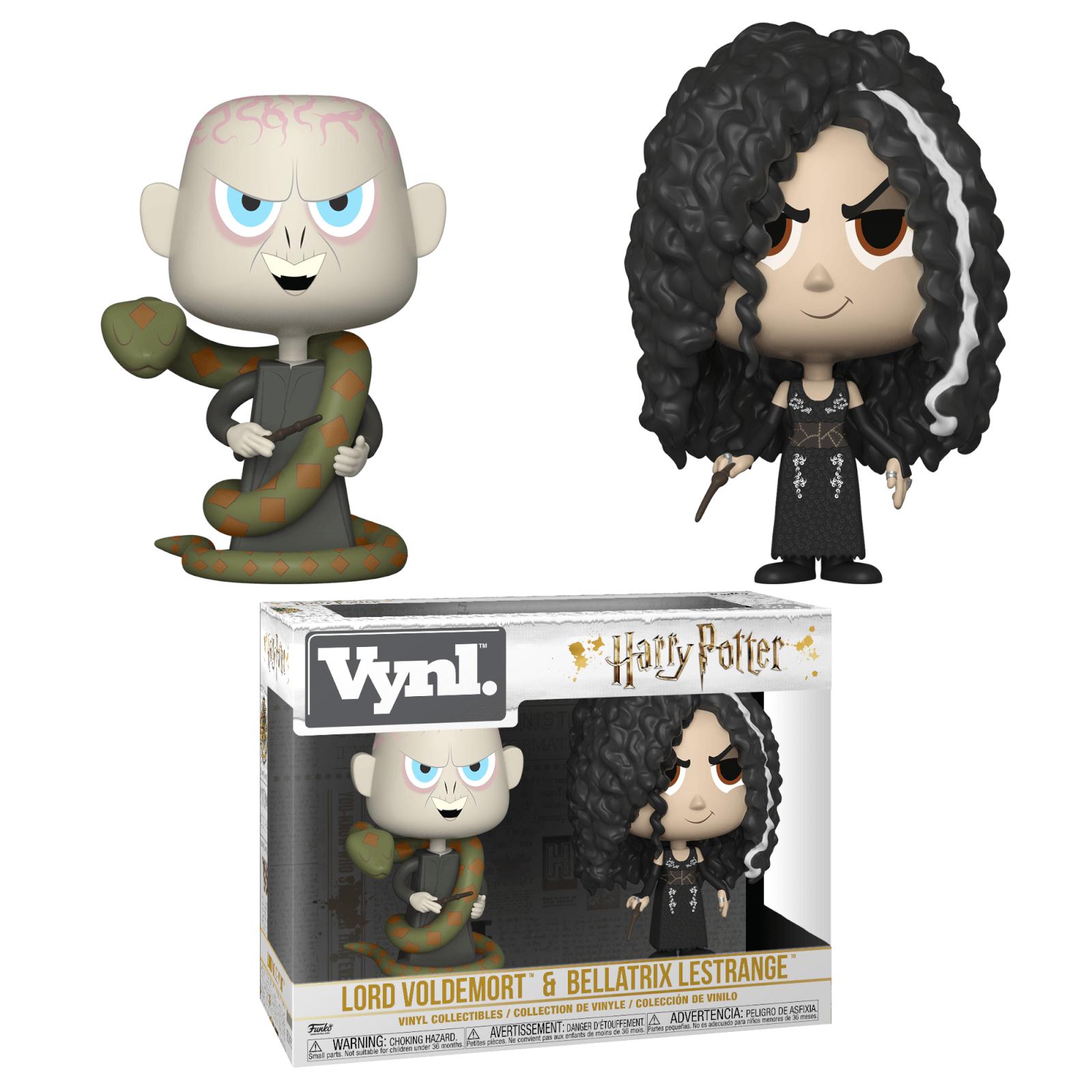 Harry Potter - Bellatrix Lestrange e Voldemort Funko Vynil