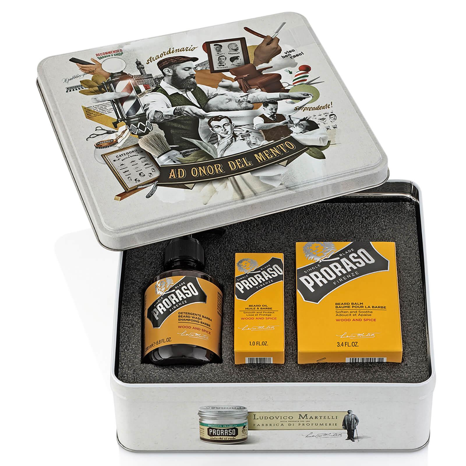 Купить Proraso Beard Care Tin - Wood and Spice