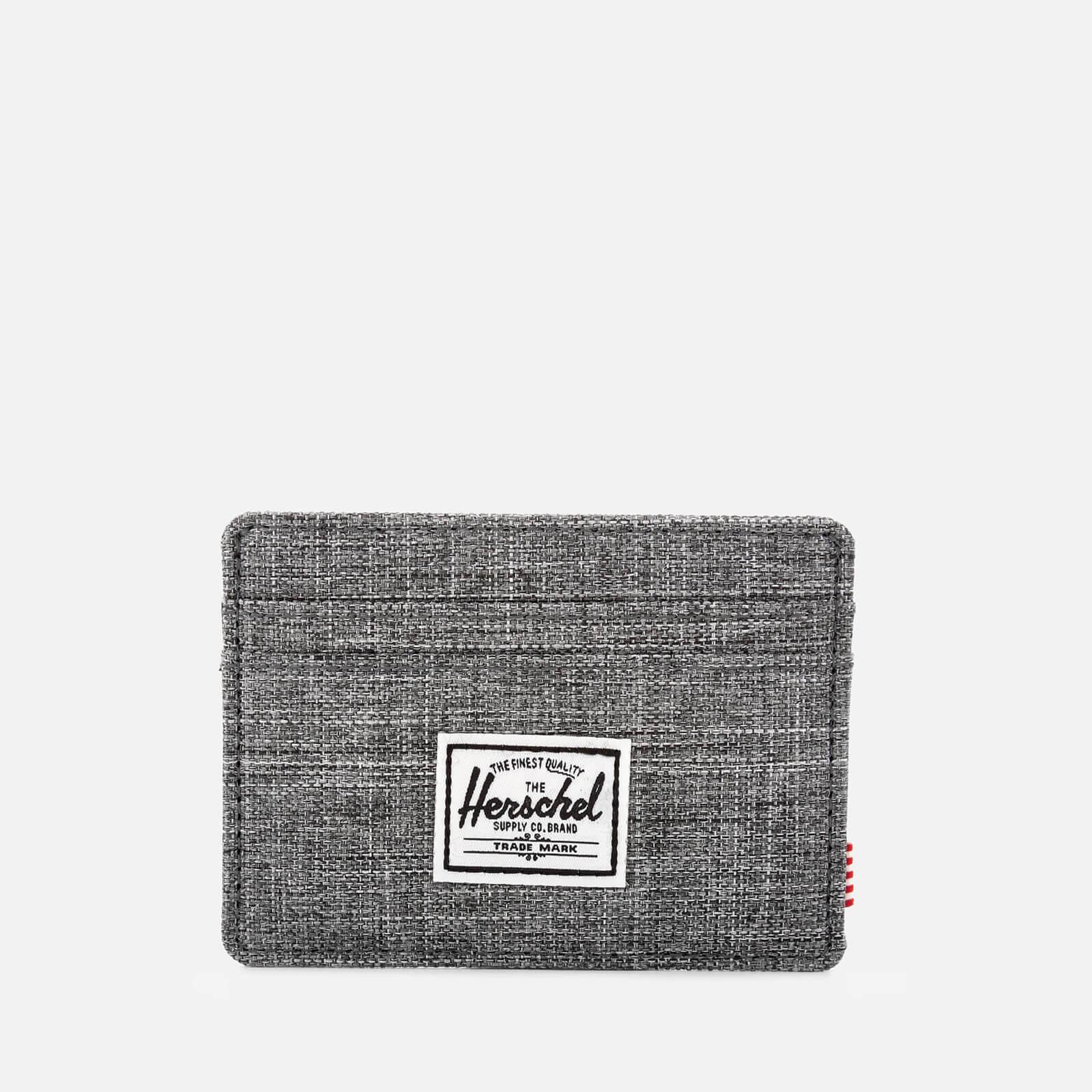 Herschel Supply Co. Men's Charlie Card Wallet - Raven Crosshatch
