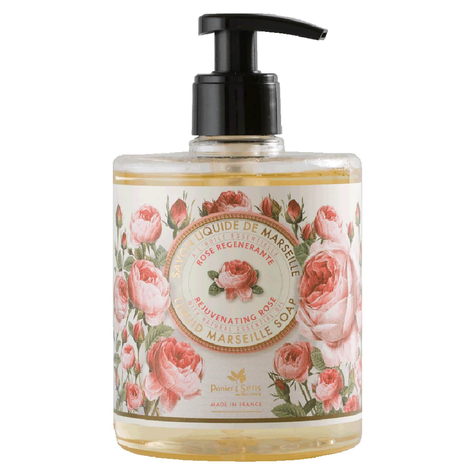 Купить Panier des Sens The Essentials Rejuvenating Rose Liquid Marseille Soap