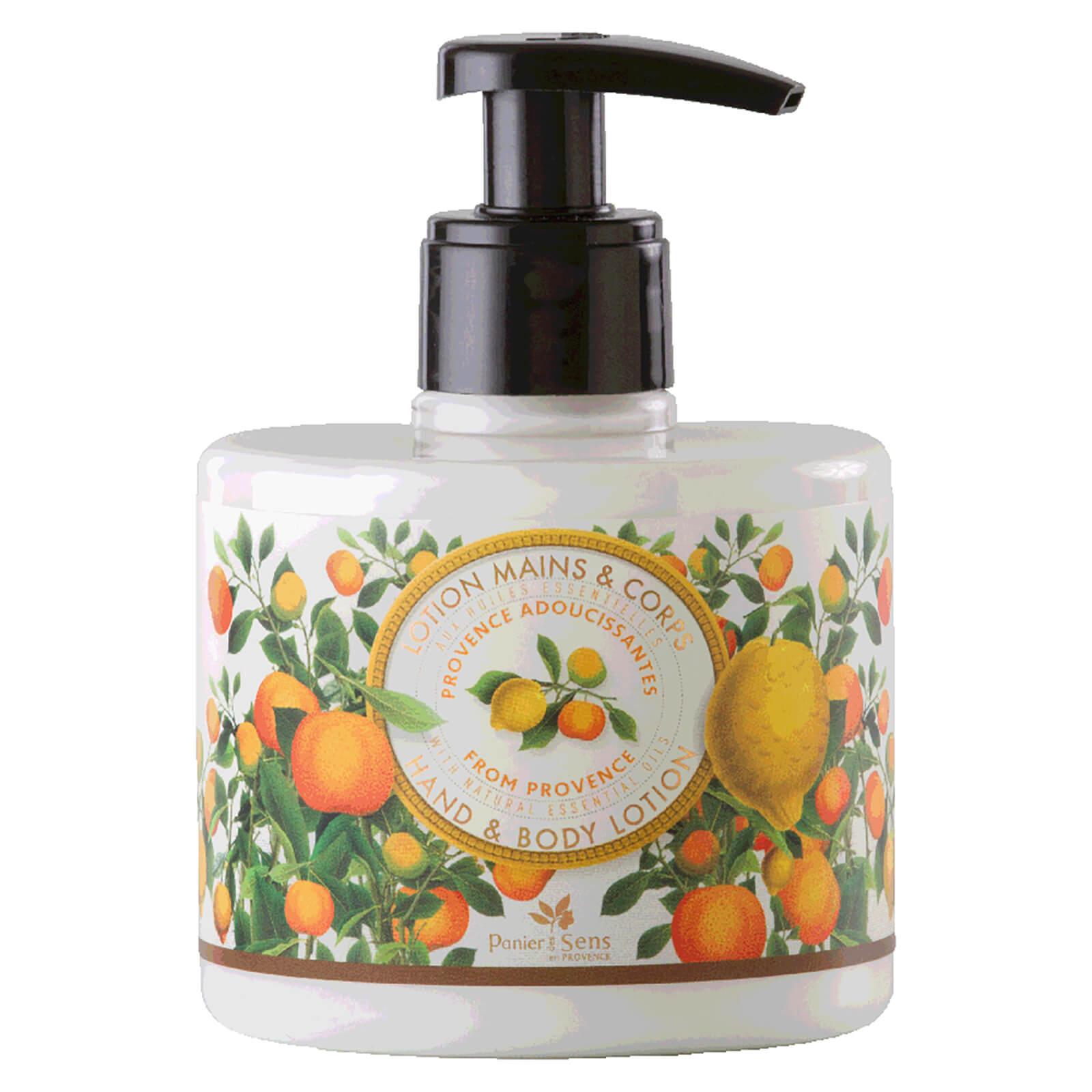 Panier des Sens The Essentials Provence Essential Oils Hand & Body Lotion