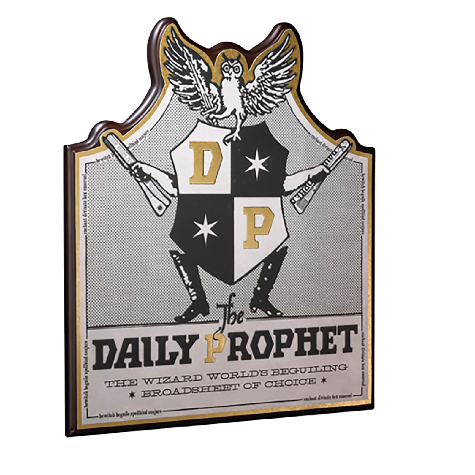 Image of Harry Potter Daily Prophet Wall Plaque