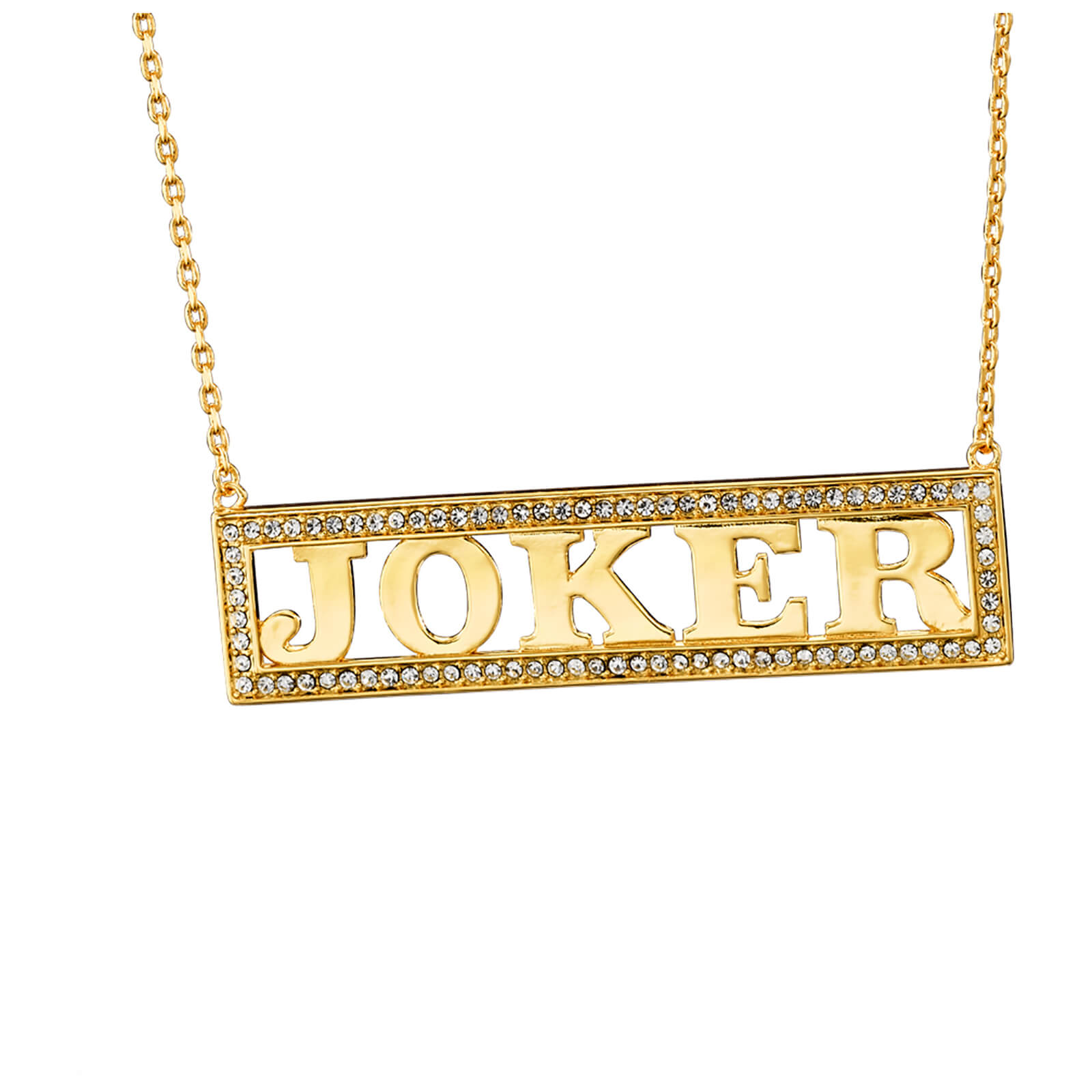 Image of DC Comics Suicide Squad Harley Quinn's Joker Necklace