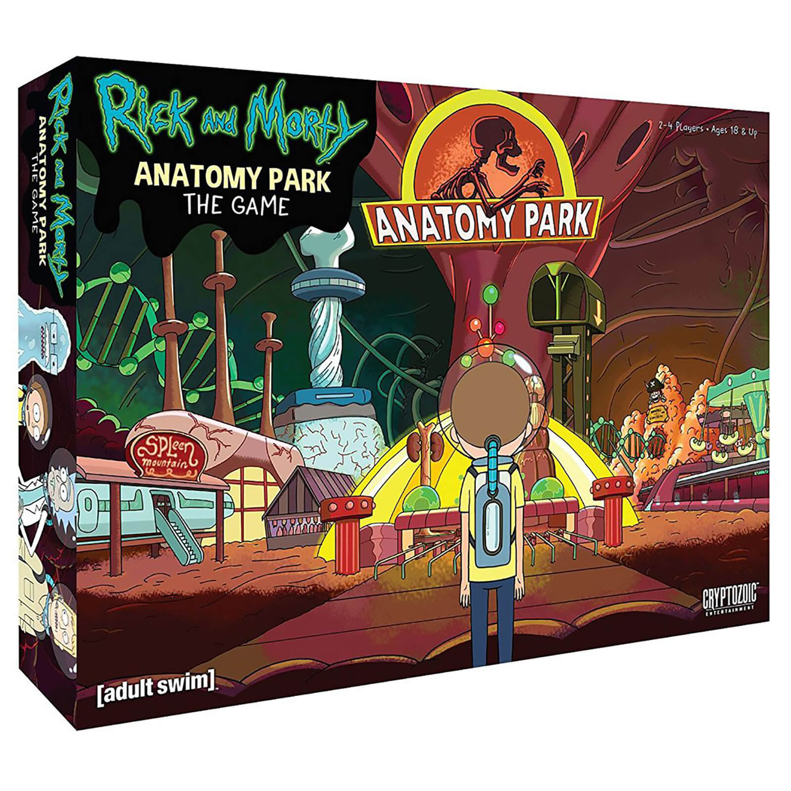 Image of Rick and Morty Board Game - The Anatomy Park