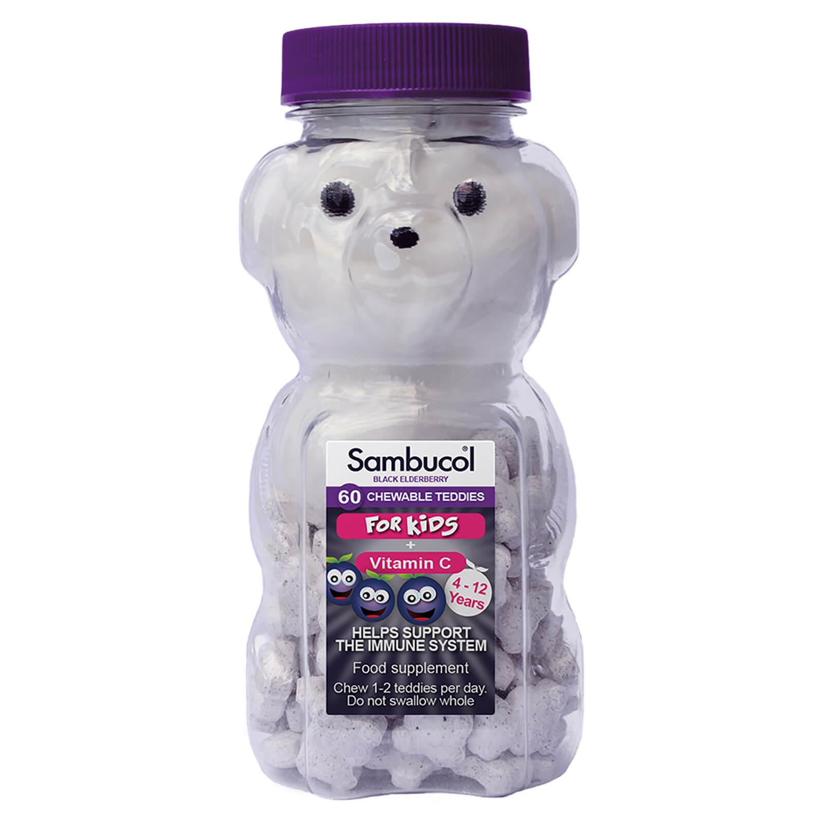 Sambucol orsetti masticabili integratore per bambini - 60 compresse