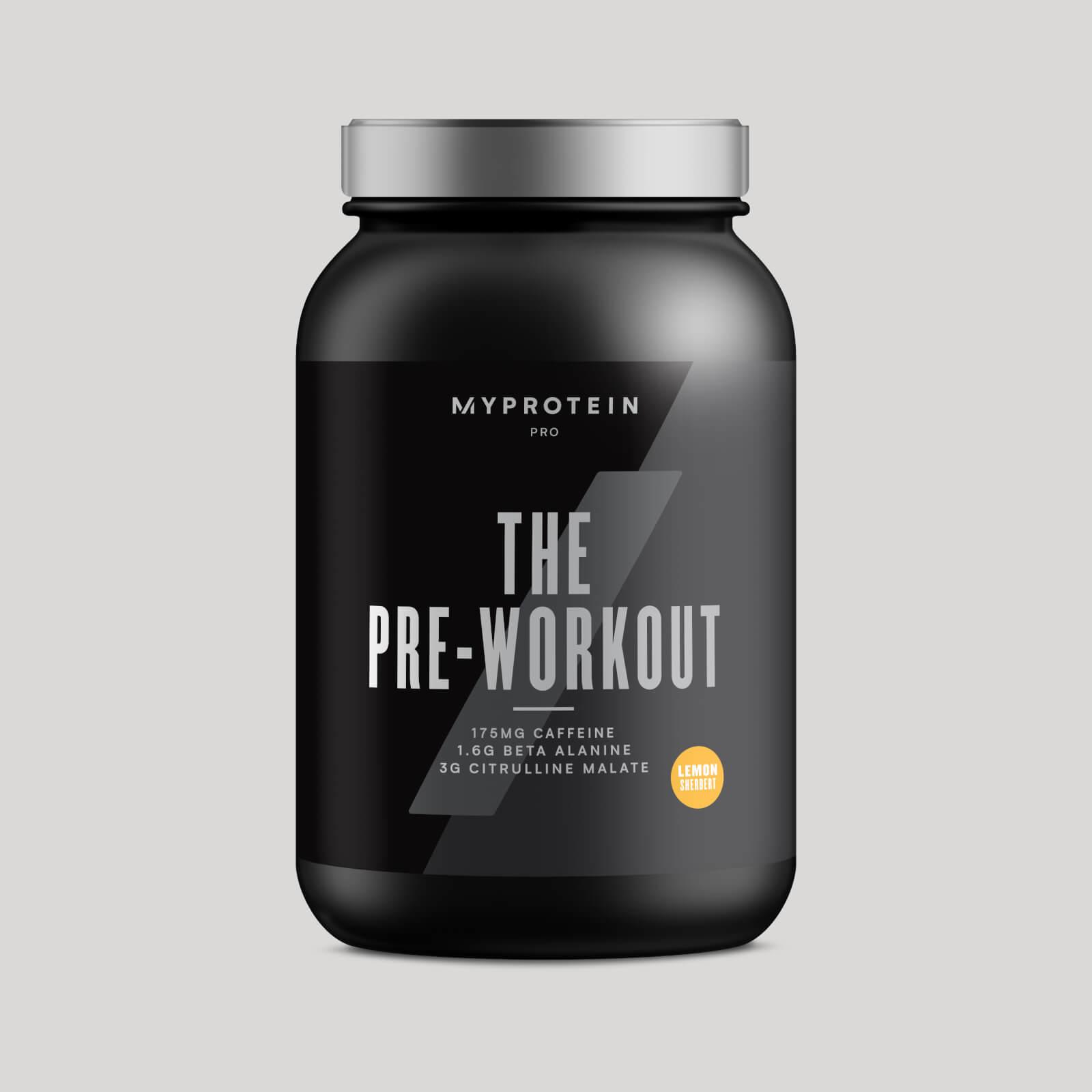 THE Pre-Workout - 30servings - Citron acidulé