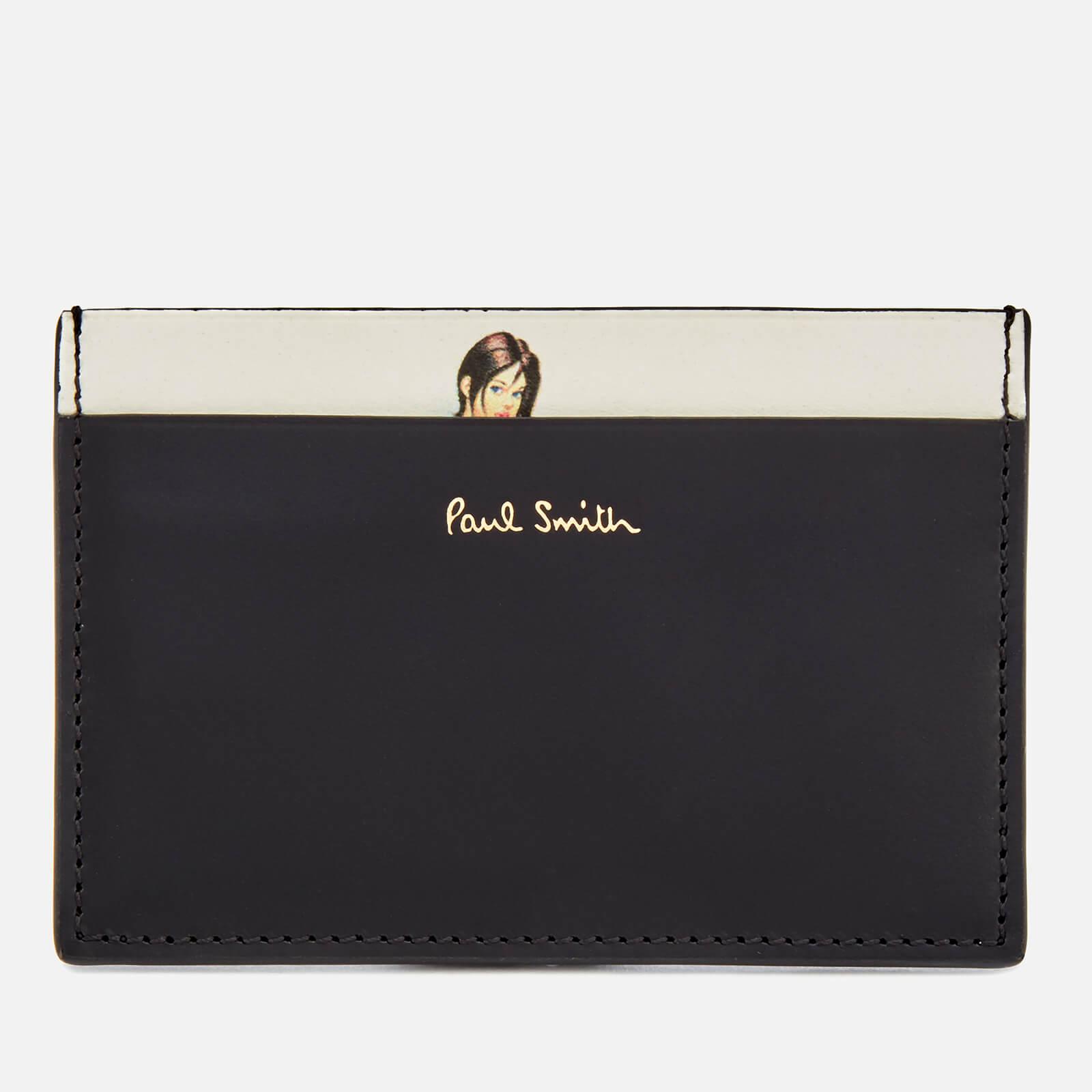 Paul Smith Men's Naked Lady Credit Card Case - Black