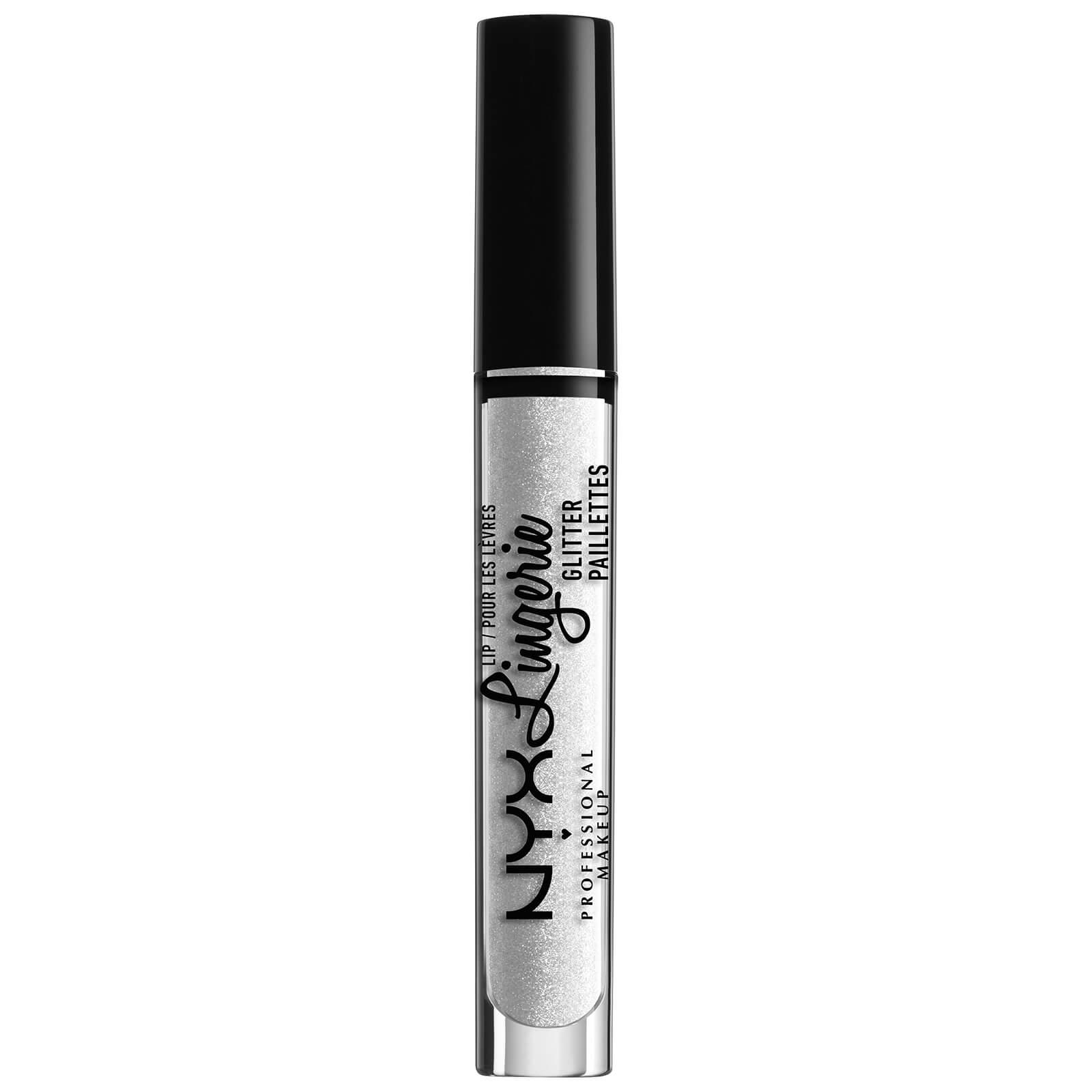 Купить Блеск для губ NYX Professional Makeup Lip Lingerie Glitter 3, 4 мл (различные оттенки) - Clear