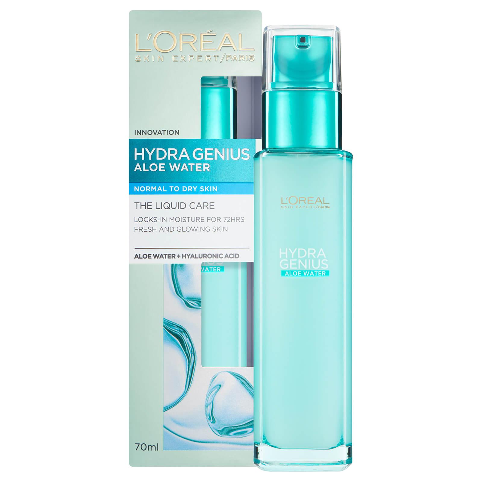 Купить L'Oréal Paris Hydra Genius Liquid Care Moisturiser Normal Dry Skin 70ml