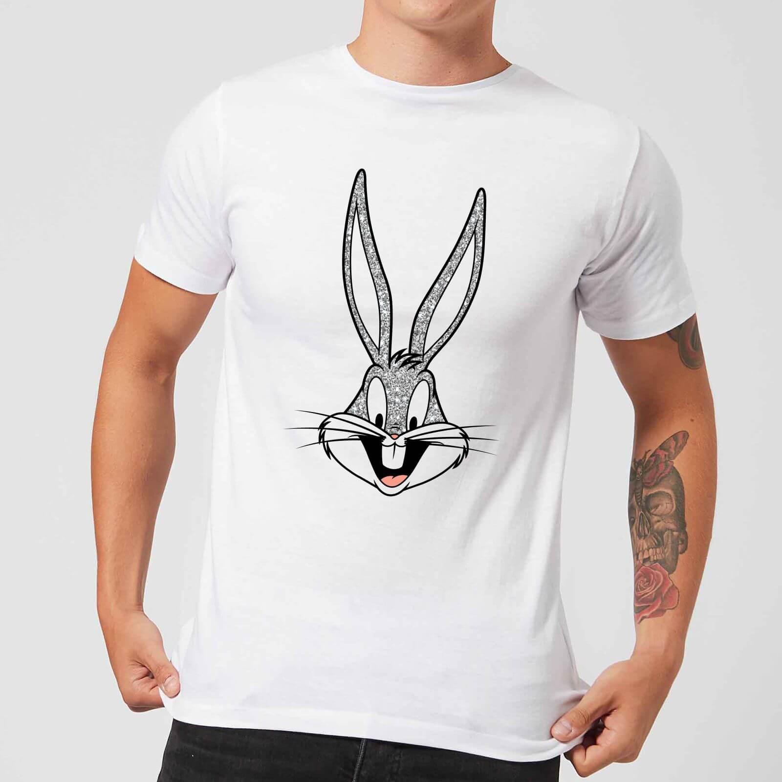 Looney Tunes Bugs Bunny Men's T-Shirt - White - XXL - White