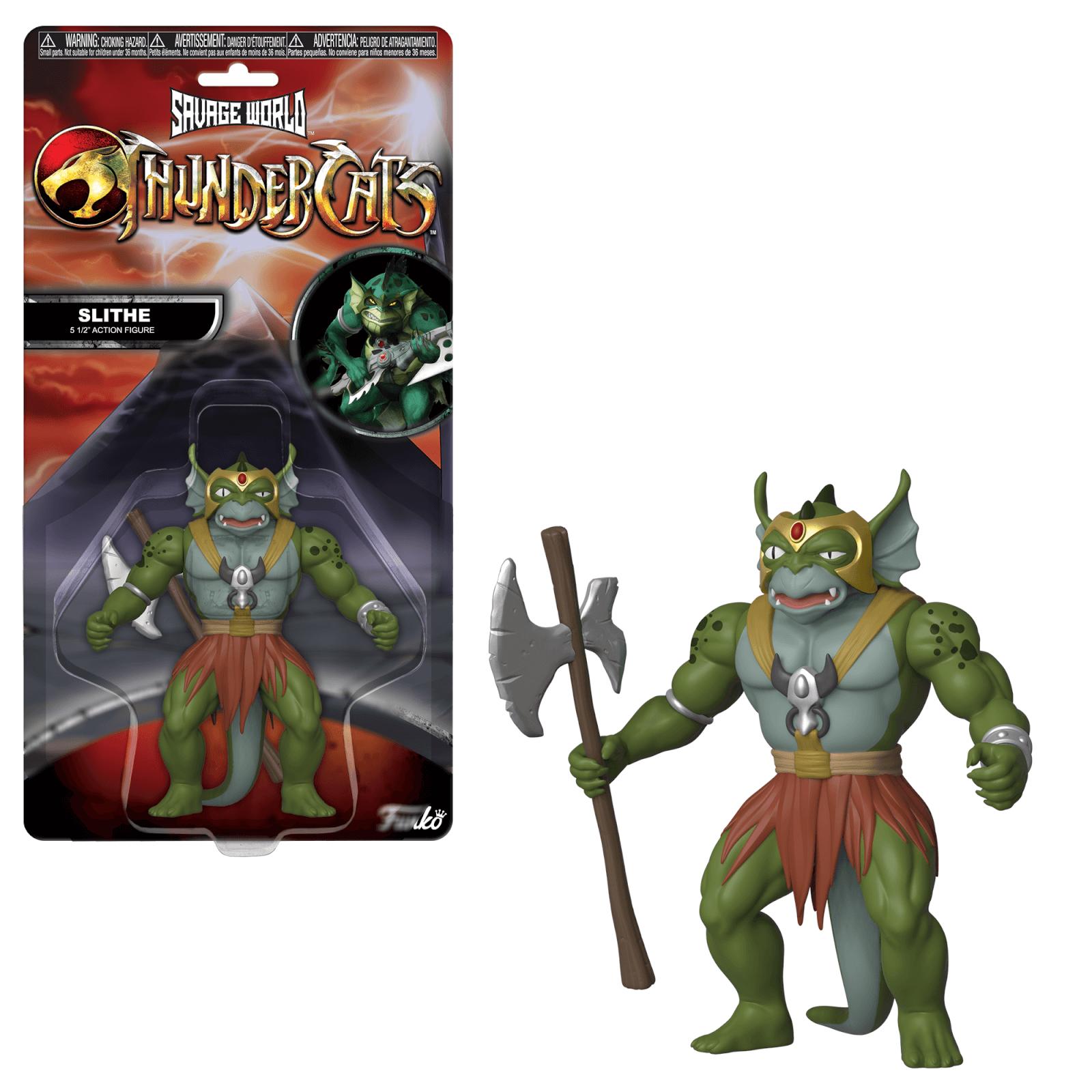 Funko Savage World: Thundercats   Slithe Action Figure