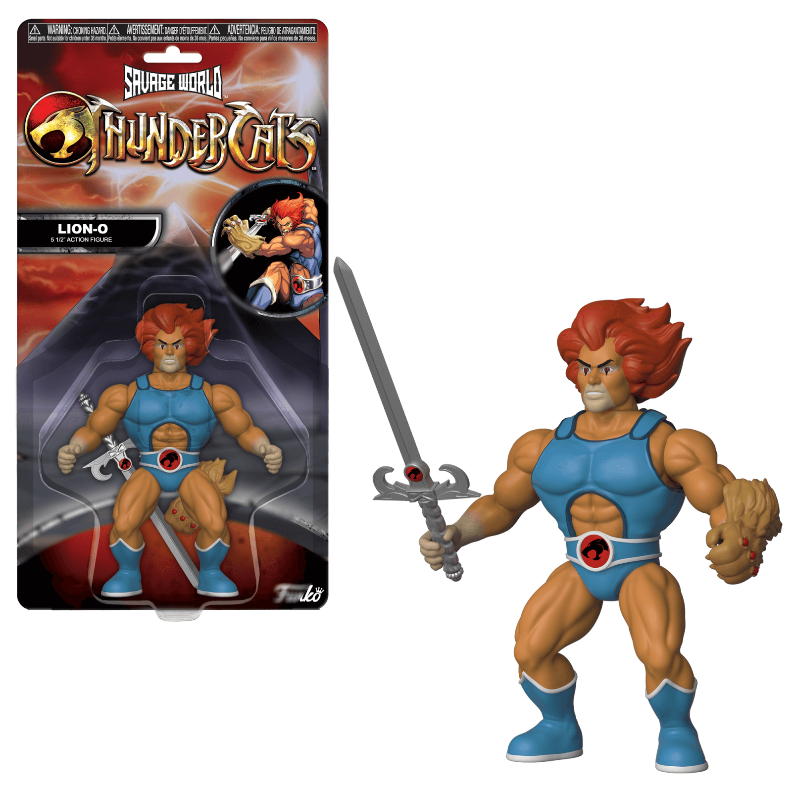 Funko Savage World: Thundercats   Lion O Action Figure