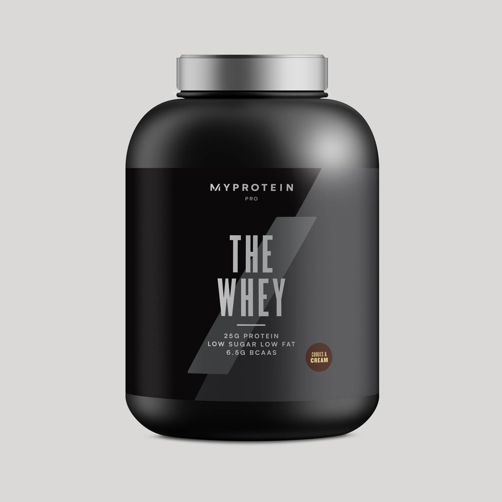 THE Whey™ - 60 Servings - 1.8kg - Cookie & cream