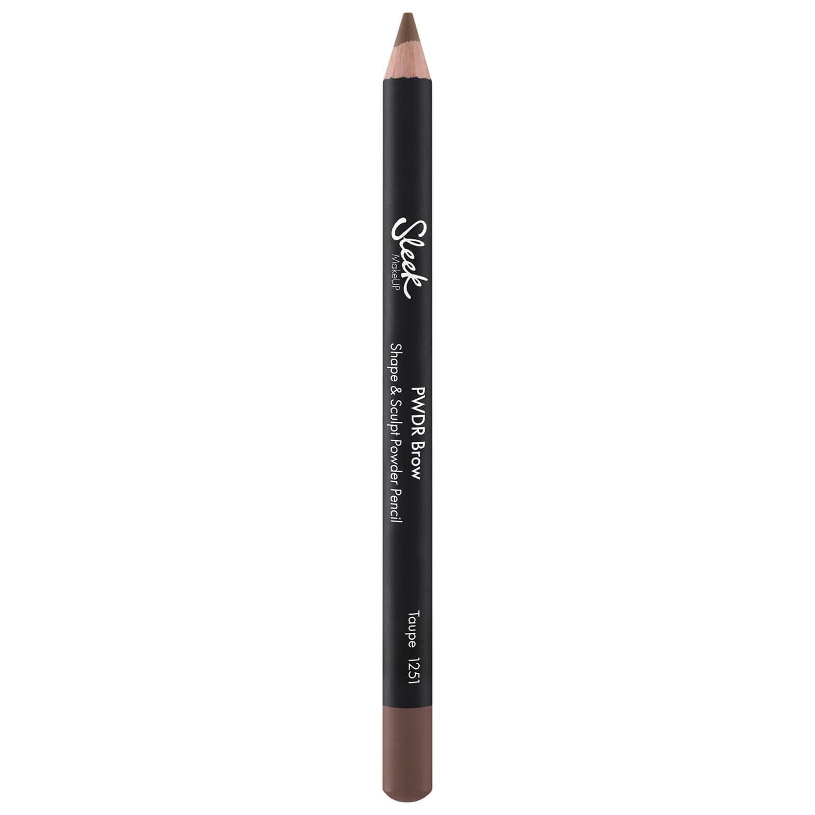 Sleek MakeUP Powder Brow Pencil (Various Shades) - Taupe