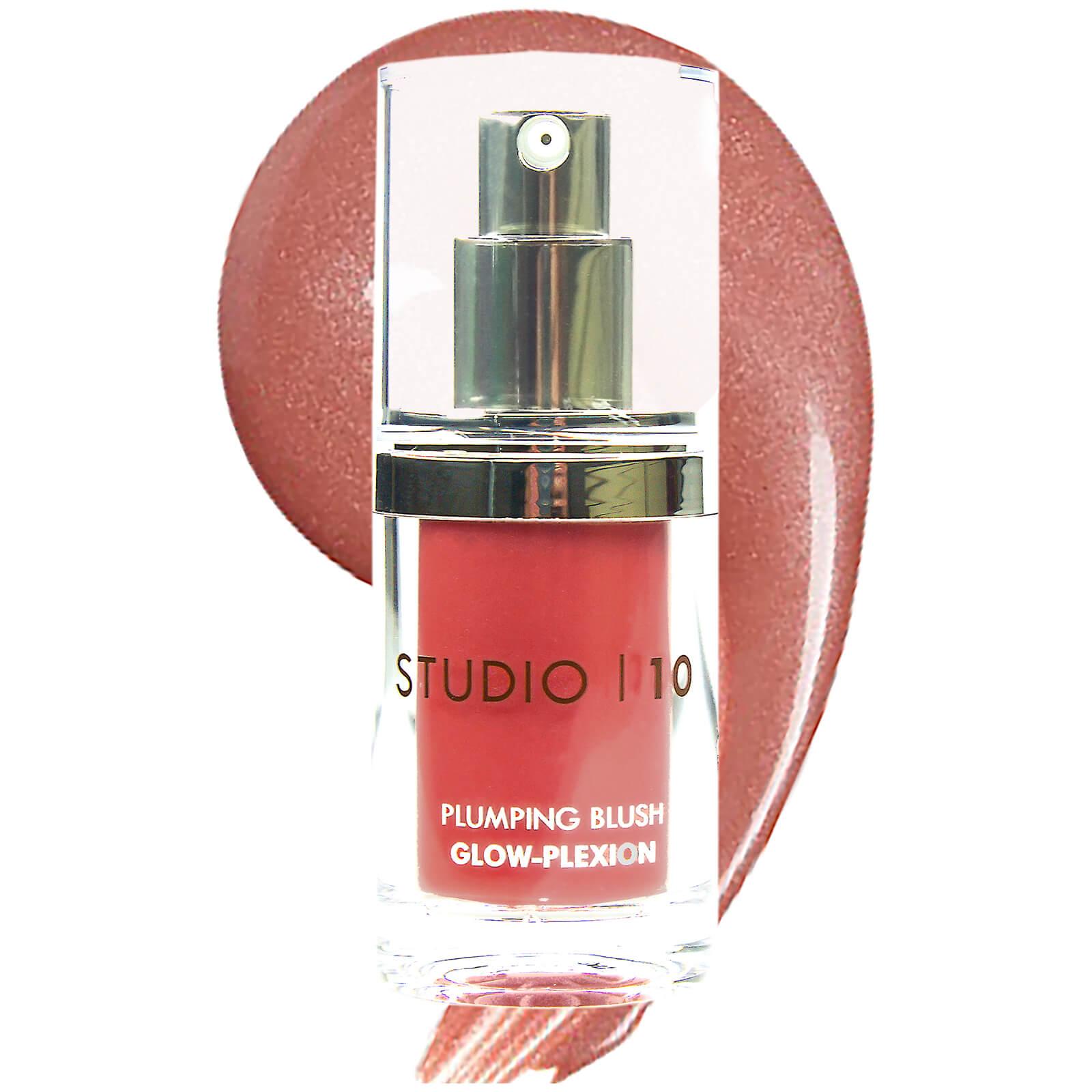 Купить Румяна-блеск Studio 10 Plumping Blush Glow-Plexion