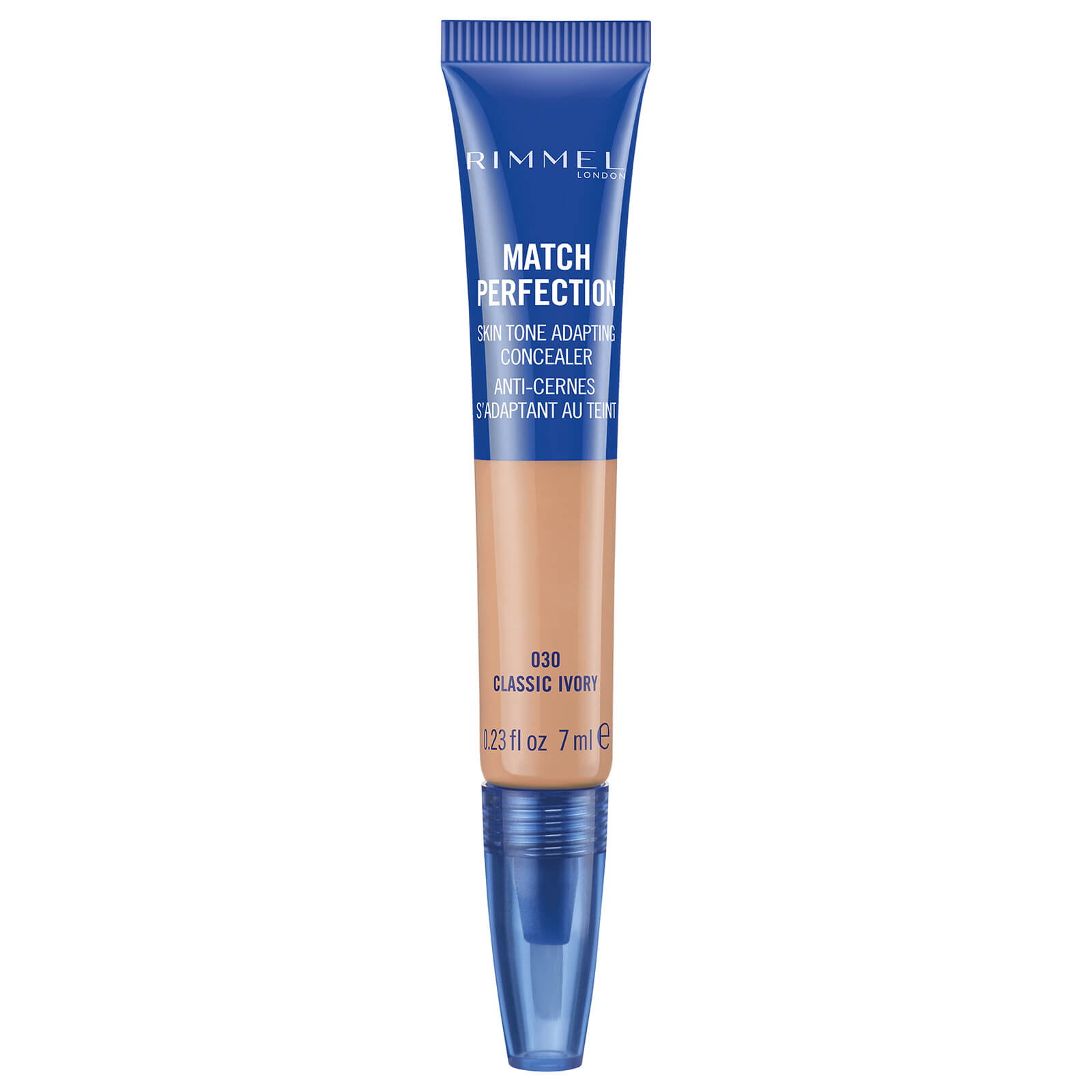 rimmel match perfection concealer 7ml (various shades) - classic ivory
