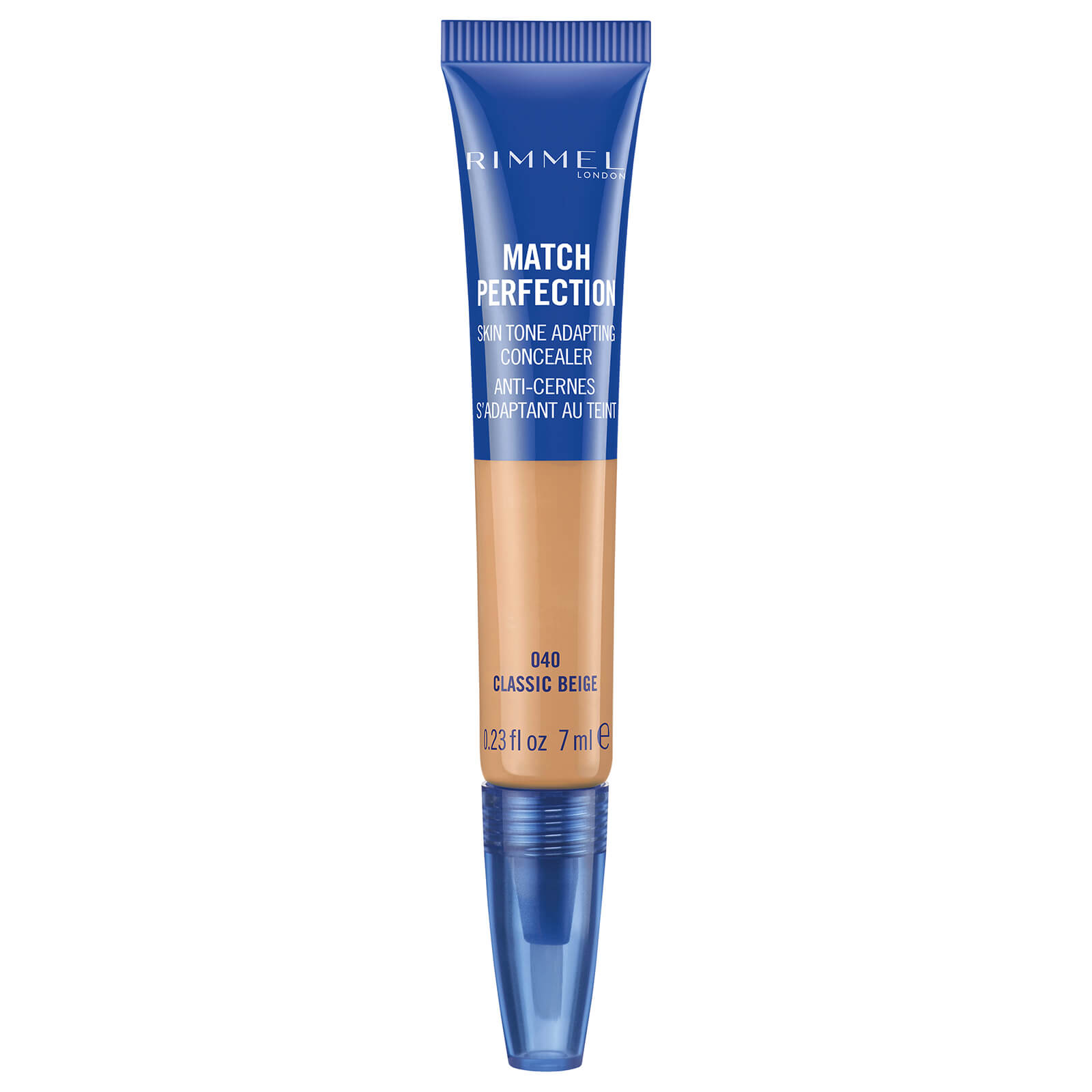 rimmel match perfection concealer 7ml (various shades) - classic beige
