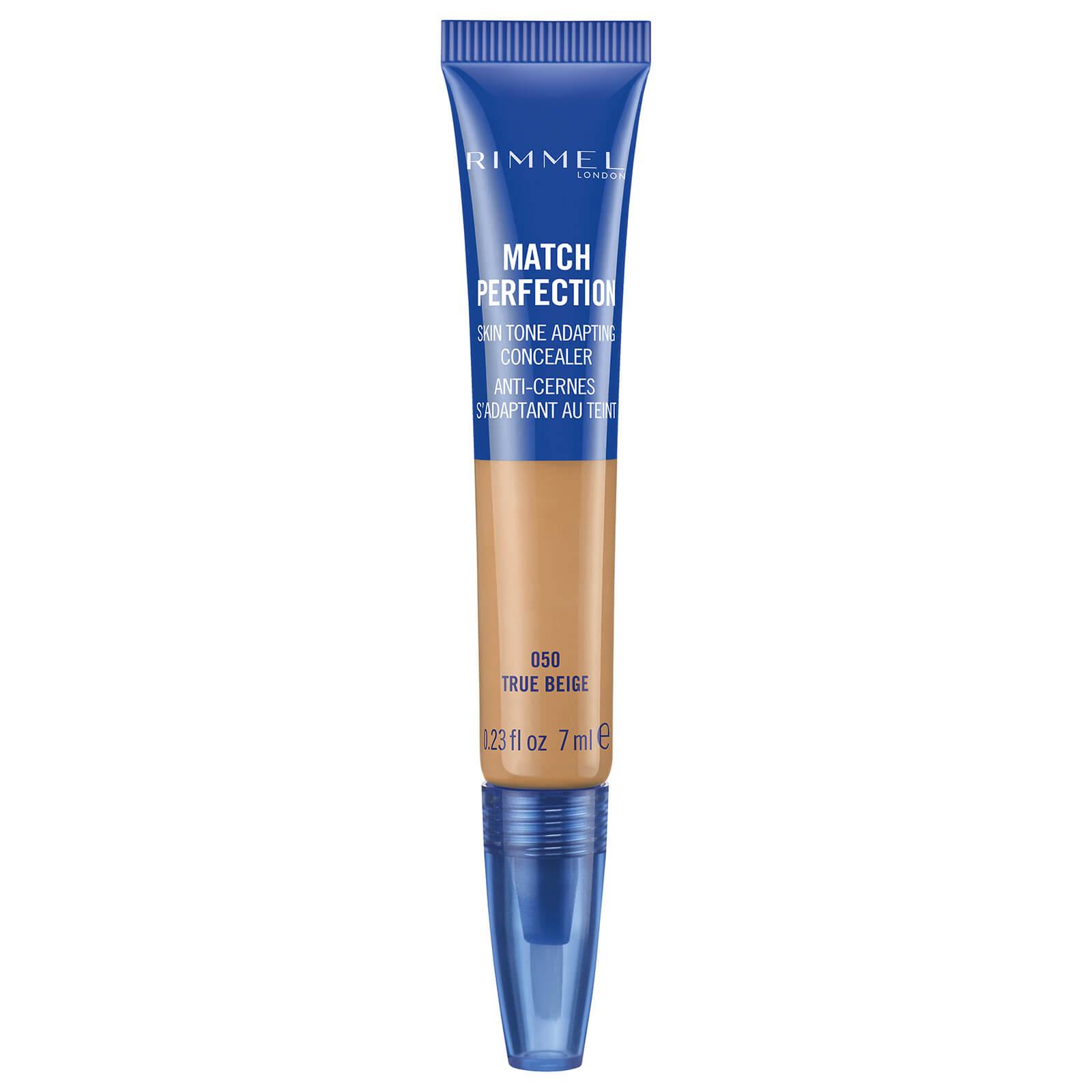 rimmel match perfection concealer 7ml (various shades) - true beige