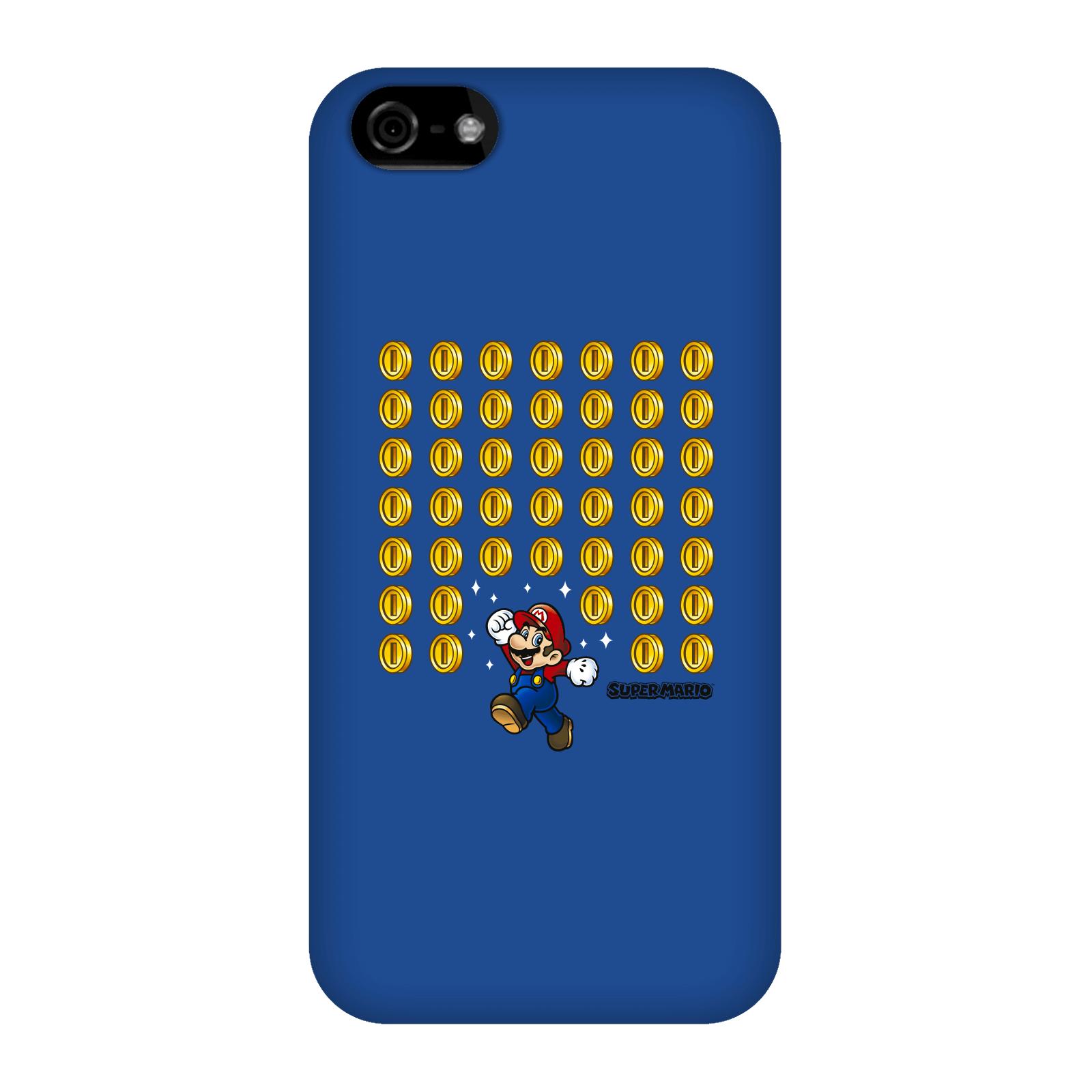 Nintendo Super Mario Coin Drop Phone Case - iPhone 5C - Snap Case - Gloss