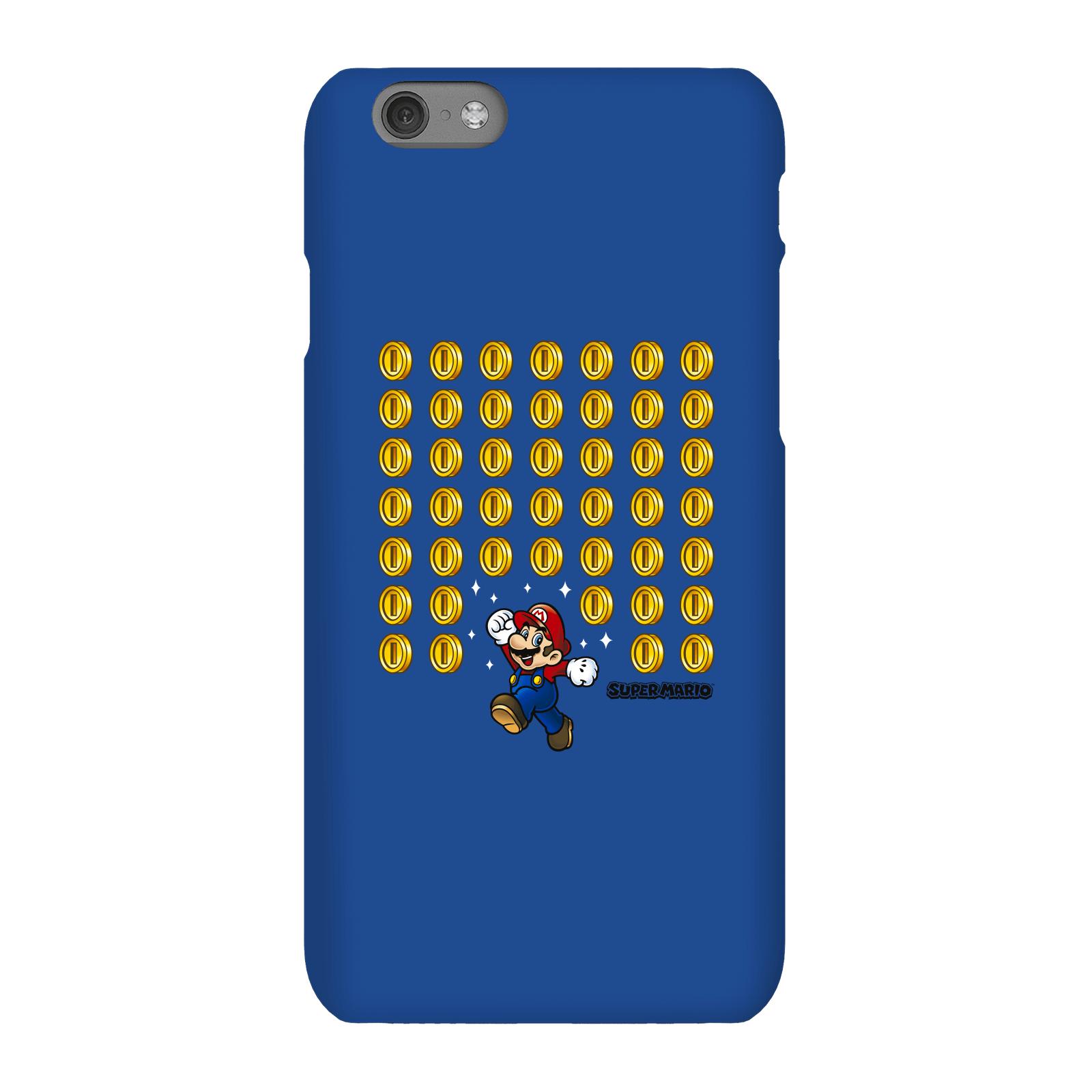 Nintendo Super Mario Coin Drop Phone Case - iPhone 6S - Snap Case - Gloss