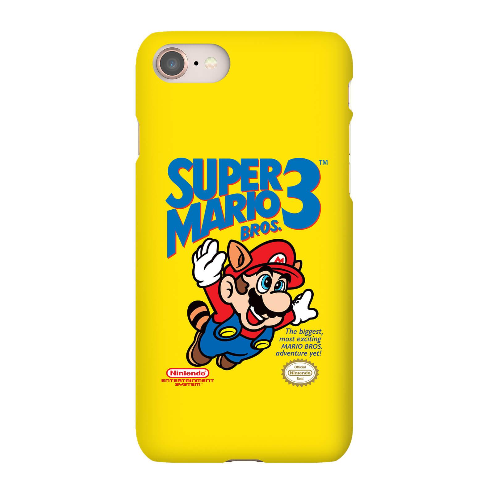 Nintendo Super Mario Bros 3 Smartphone Hülle - iPhone 5C - Tough Hülle Matt