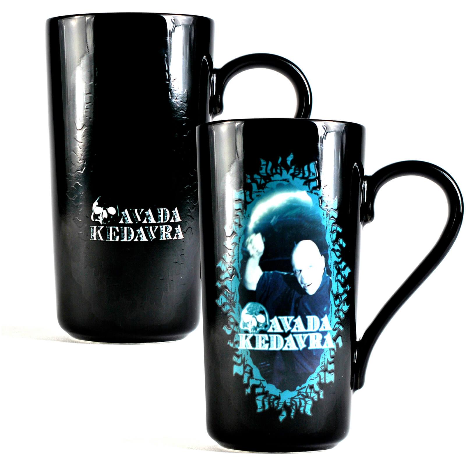 Image of Harry Potter Latte Mug (Voldemort)