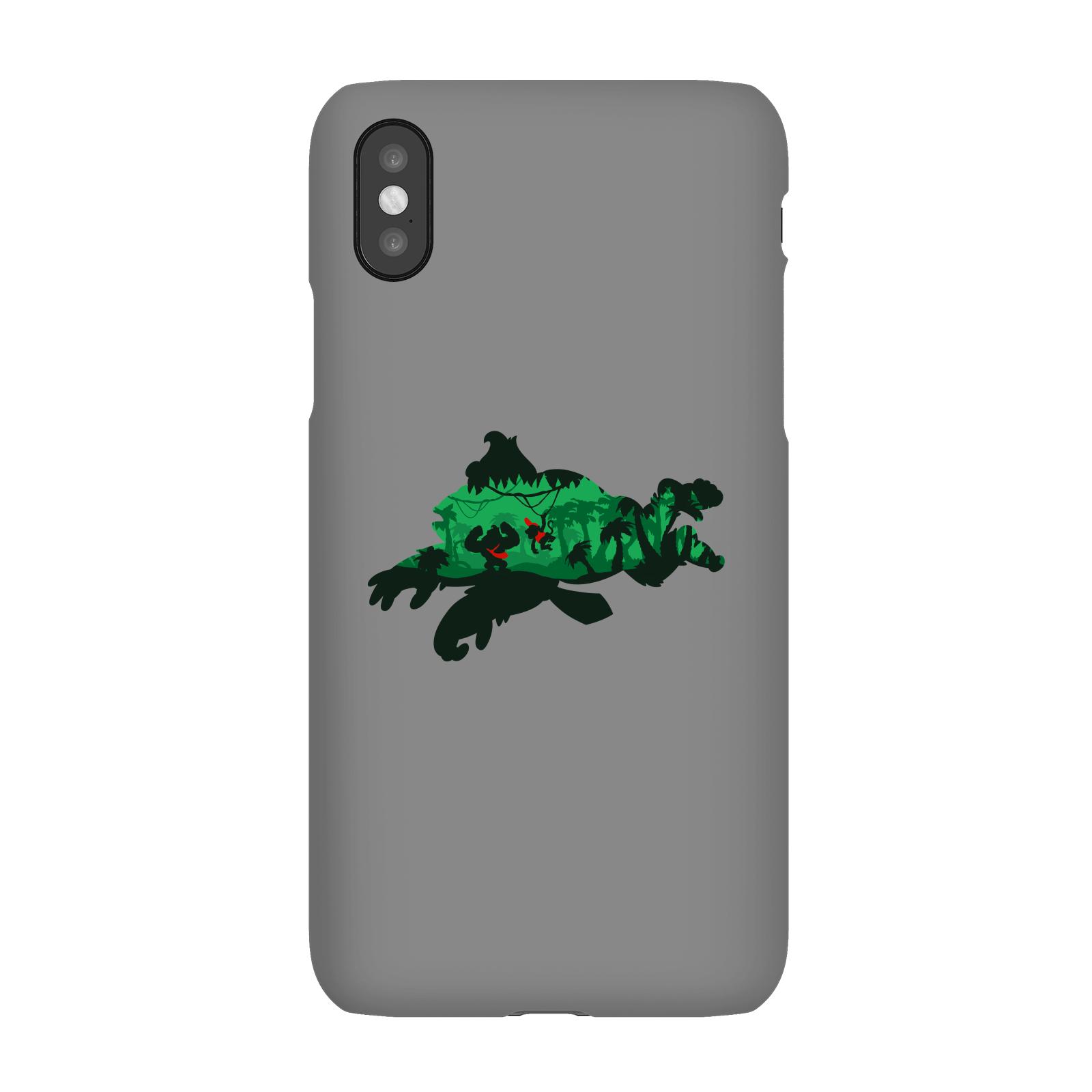 Nintendo Donkey Kong Silhouette Smartphone Hülle - Samsung S10E - Snap Hülle Matt
