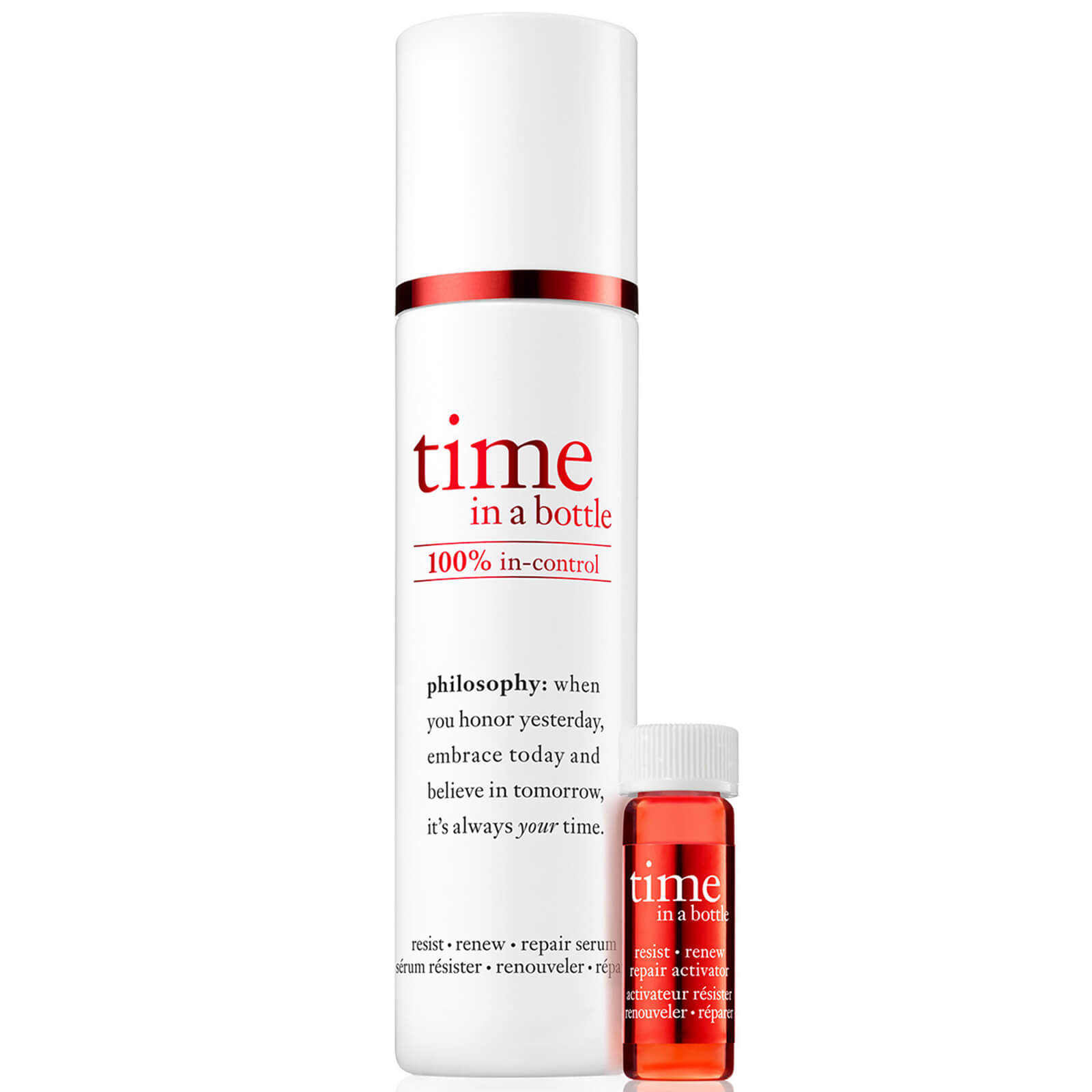 philosophy Time in a Bottle 100% Face Serum 40ml