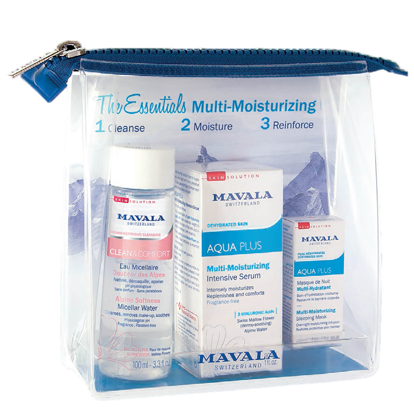 Mavala The Essentials Multi-Moisturising Set (Worth £40.18)
