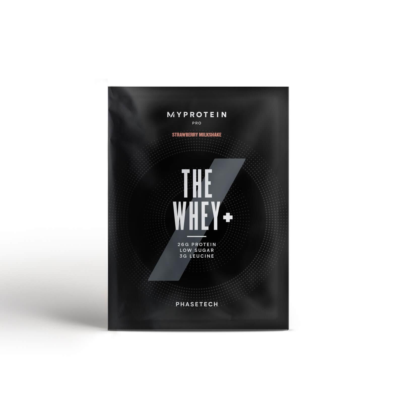 THE Whey+ (Échantillon) - Milkshake Fraise