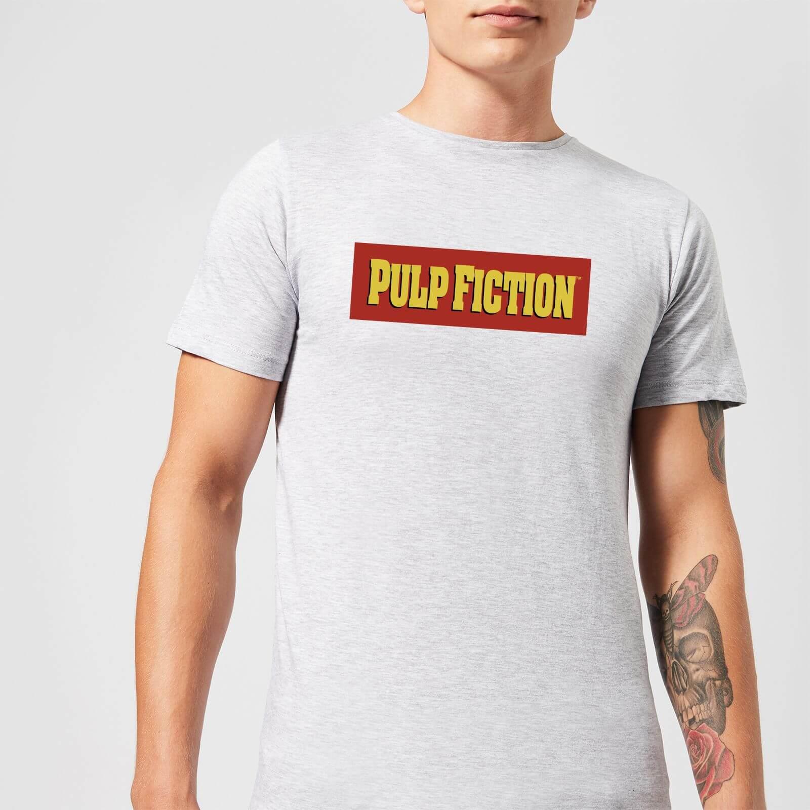 OfferteWeb.click 75-pulp-fiction-logo-men-s-t-shirt-grey-l-grigio