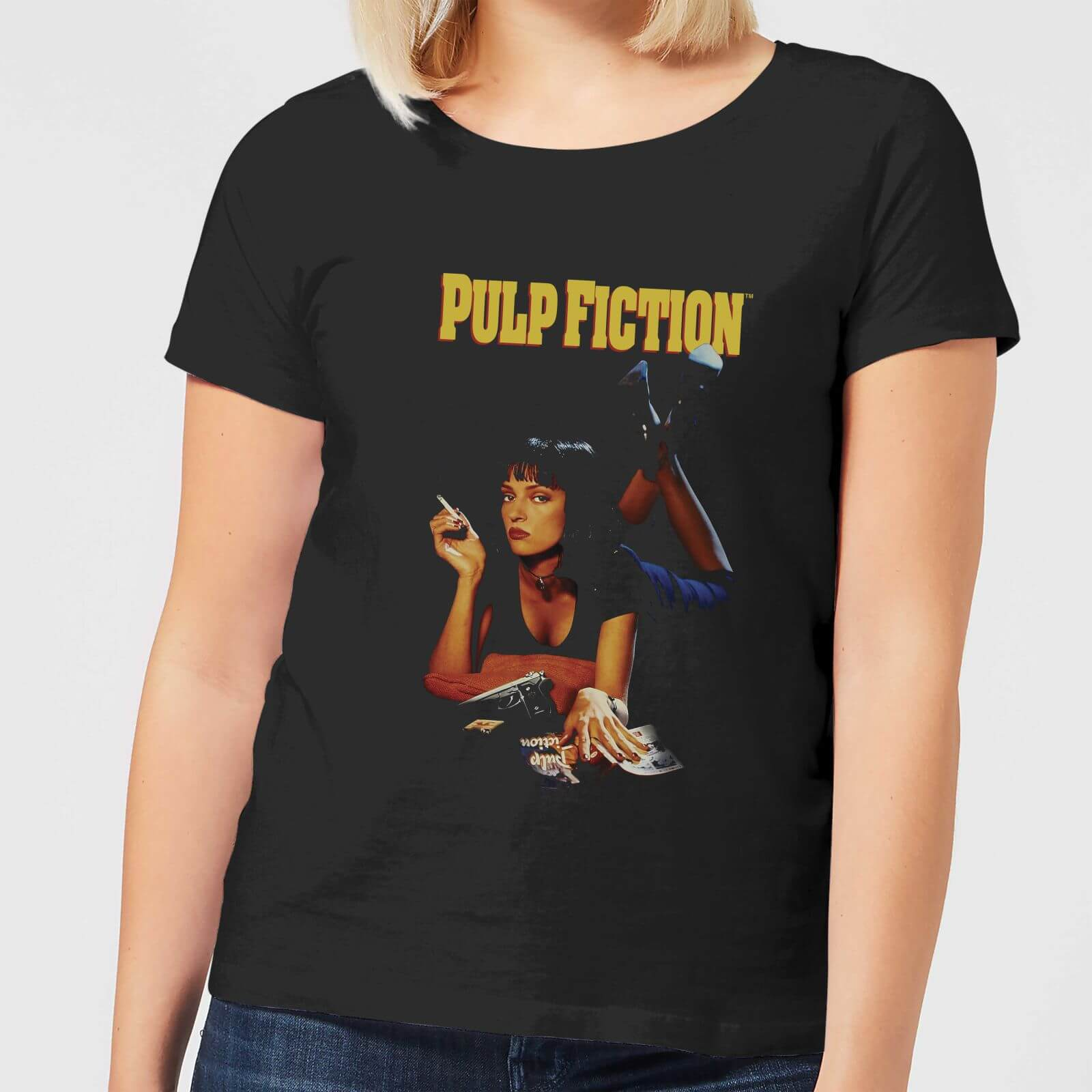 OfferteWeb.click 95-pulp-fiction-poster-women-s-t-shirt-black-xxl-nero