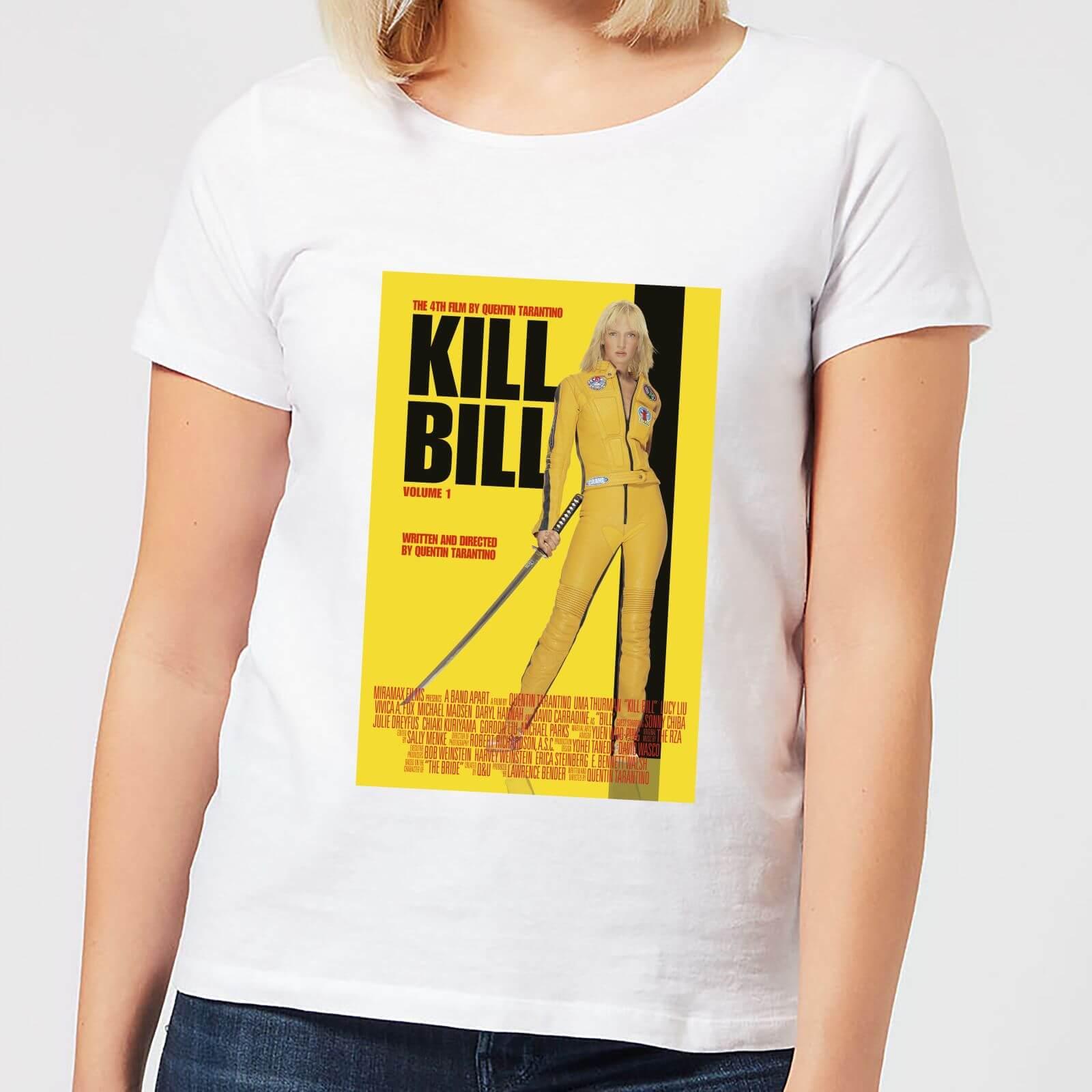 OfferteWeb.click 14-kill-bill-poster-women-s-t-shirt-white-l-bianco