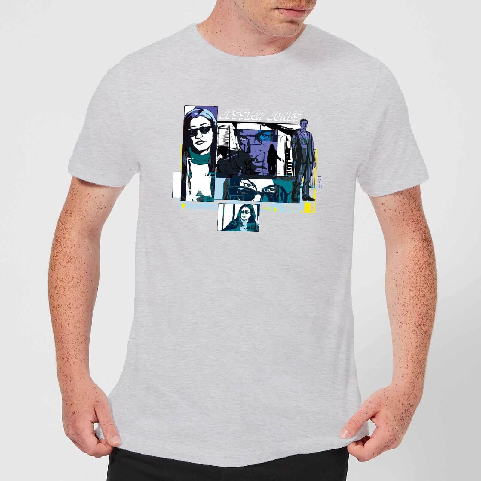 OfferteWeb.click 62-t-shirt-marvel-knights-jessica-jones-comic-panels-grigio