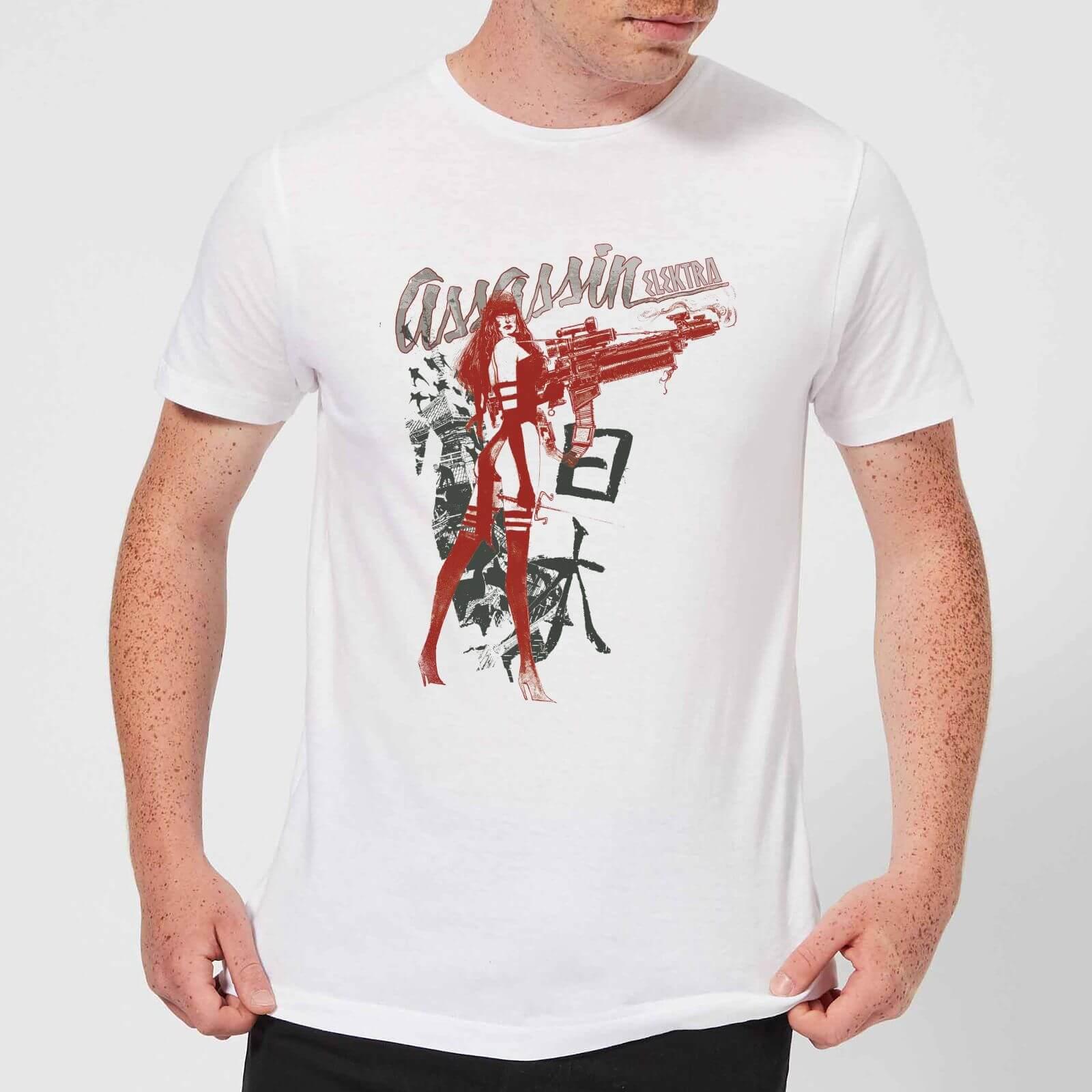 OfferteWeb.click 71-t-shirt-marvel-knights-elektra-assassin-bianco-uomo