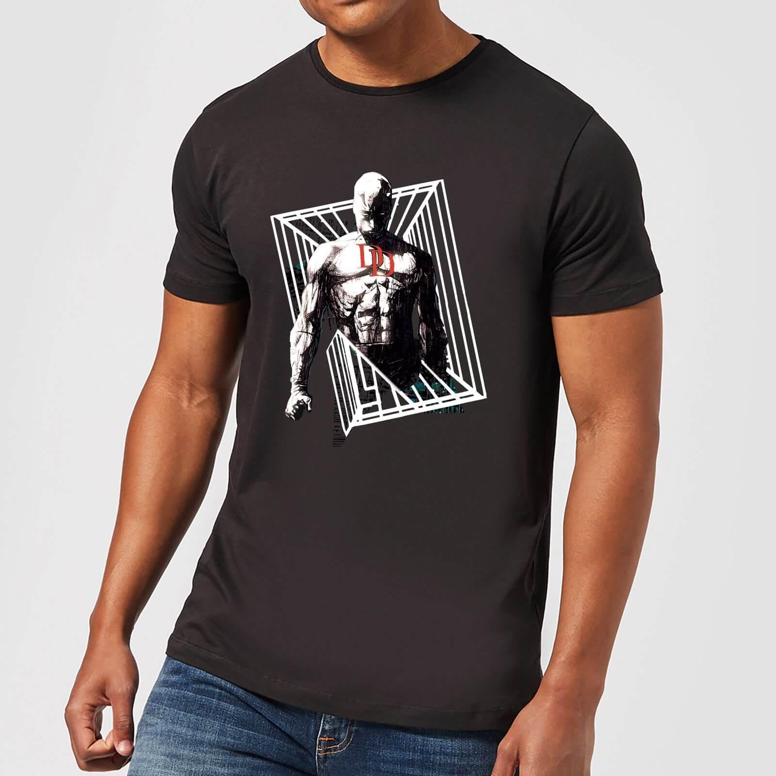 OfferteWeb.click 83-t-shirt-marvel-knights-daredevil-cage-nero-uomo-xxl