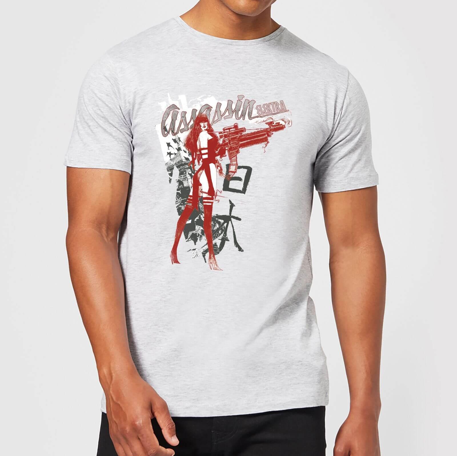 OfferteWeb.click 99-t-shirt-marvel-knights-elektra-assassin-grigio-uomo-l