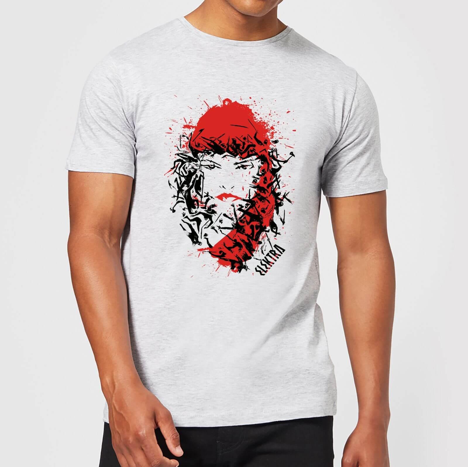 OfferteWeb.click 35-t-shirt-marvel-knights-elektra-face-of-death-grigio-uomo