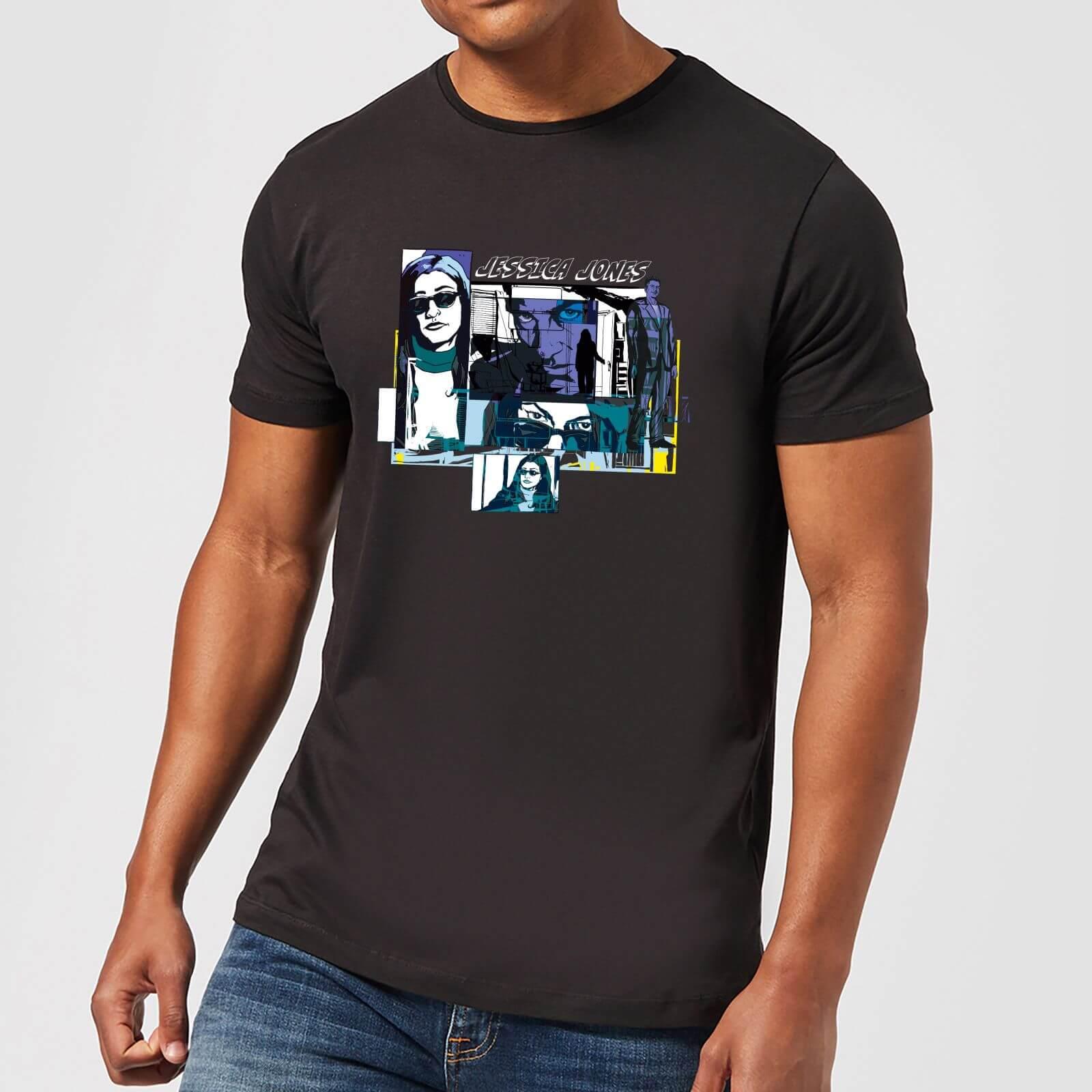 OfferteWeb.click 40-t-shirt-marvel-knights-jessica-jones-comic-panels-nero