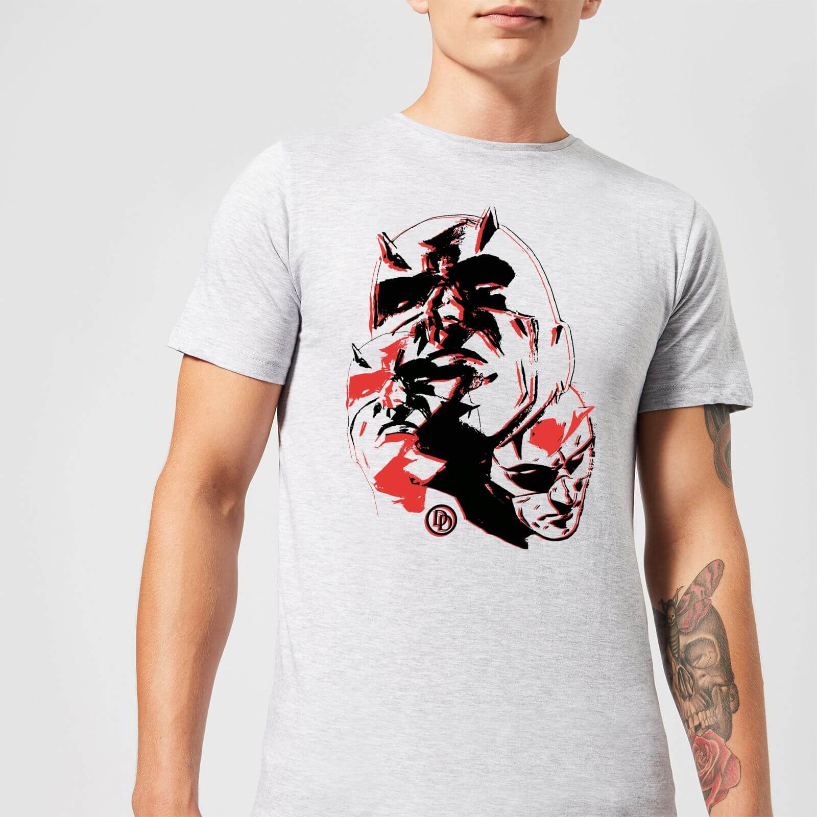 OfferteWeb.click 51-t-shirt-marvel-knights-daredevil-layered-faces-grigio