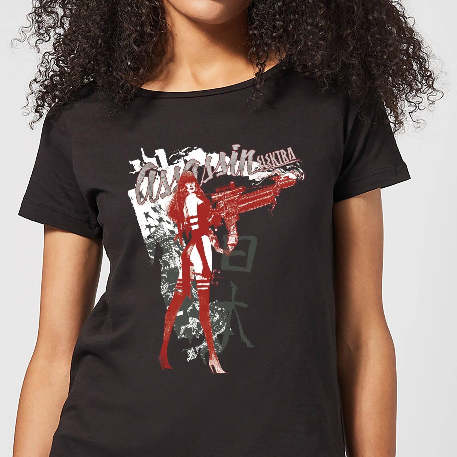 OfferteWeb.click 63-t-shirt-marvel-knights-elektra-assassin-nero-donna-s