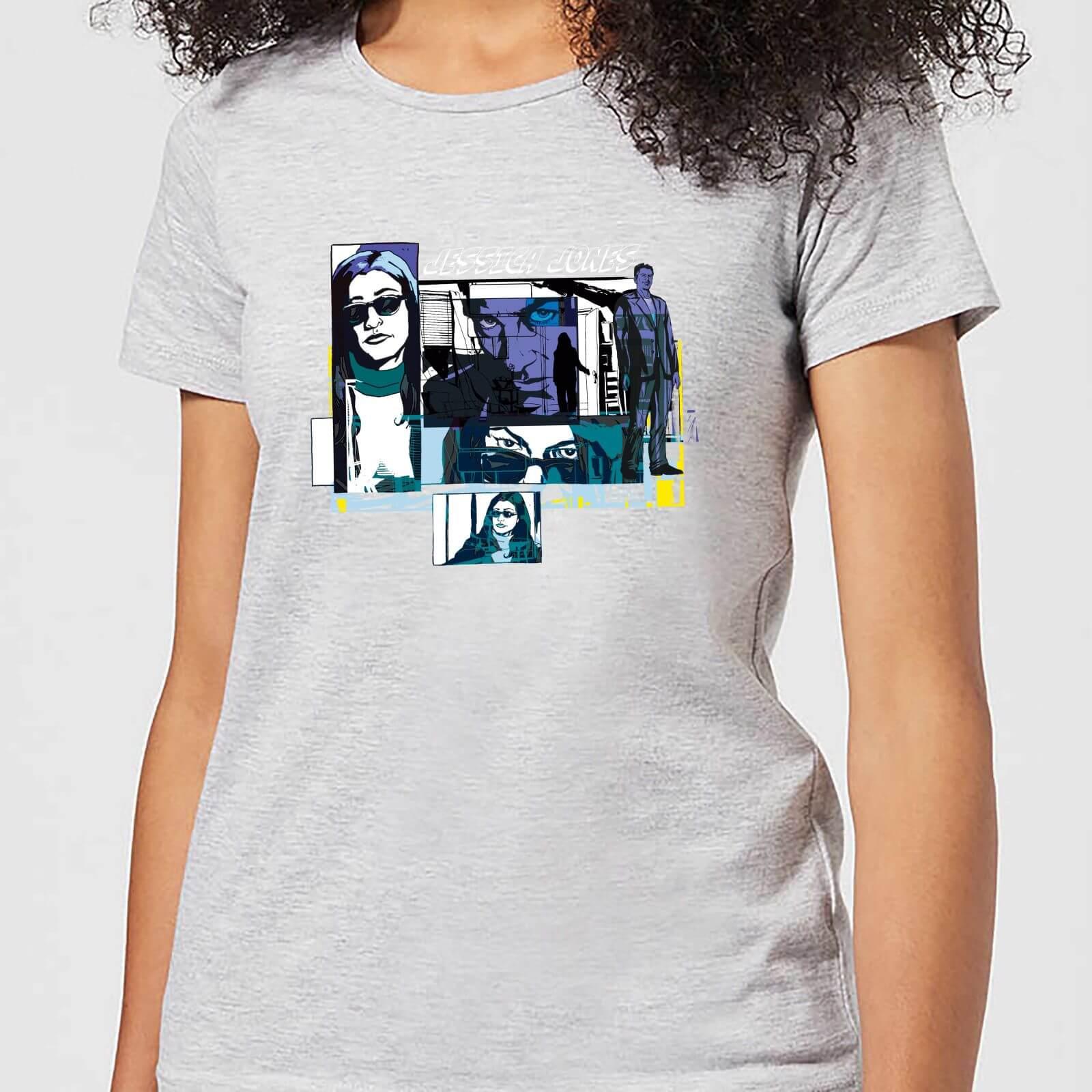 OfferteWeb.click 72-t-shirt-marvel-knights-jessica-jones-comic-panels-grigio