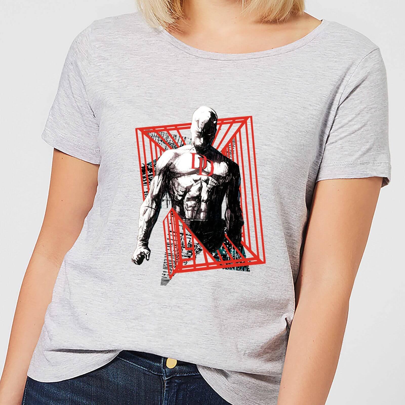 OfferteWeb.click 06-t-shirt-marvel-knights-daredevil-cage-grigio-donna-m