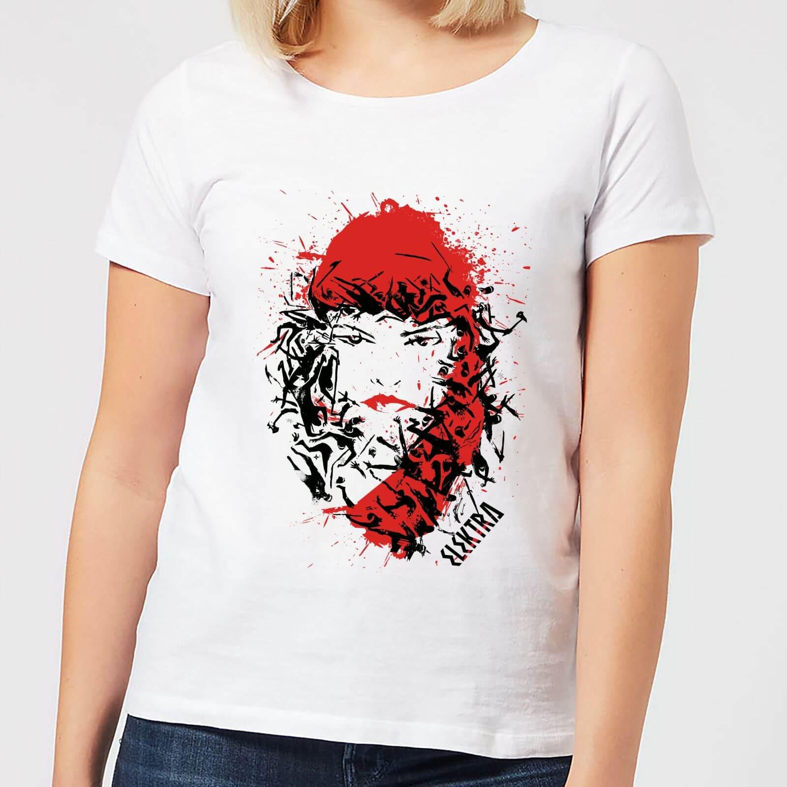 OfferteWeb.click 49-t-shirt-marvel-knights-elektra-face-of-death-bianco