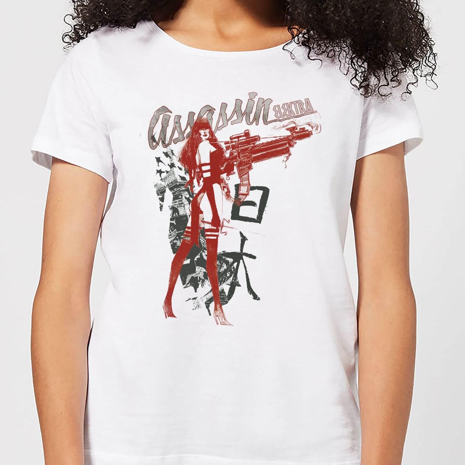 OfferteWeb.click 57-t-shirt-marvel-knights-elektra-assassin-bianco-donna