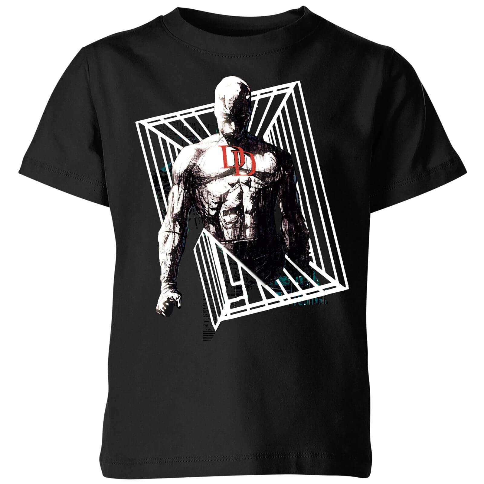 OfferteWeb.click 69-t-shirt-marvel-knights-daredevil-cage-nero-bambini