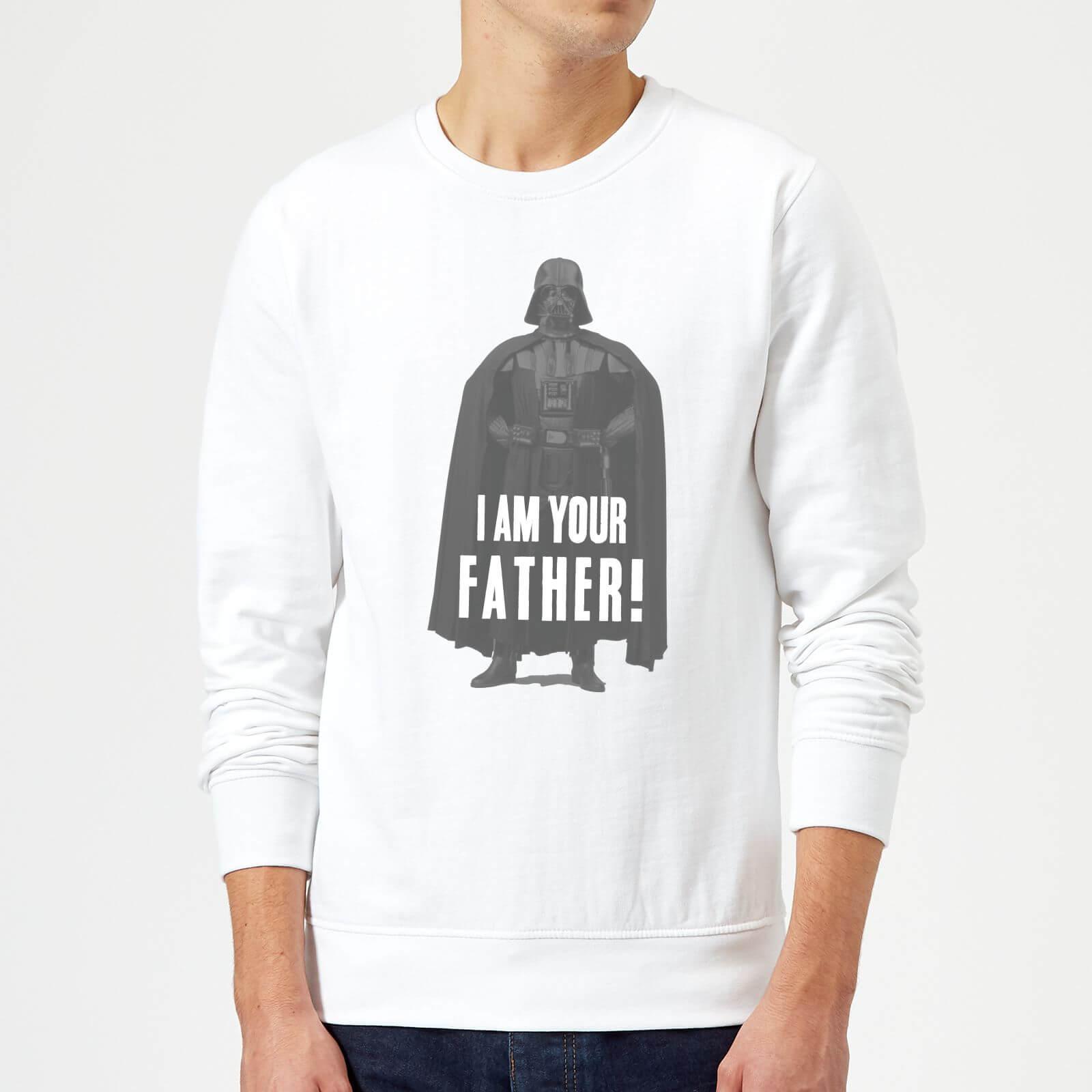 OfferteWeb.click 27-felpa-star-wars-darth-vader-i-am-your-father-pose-bianco